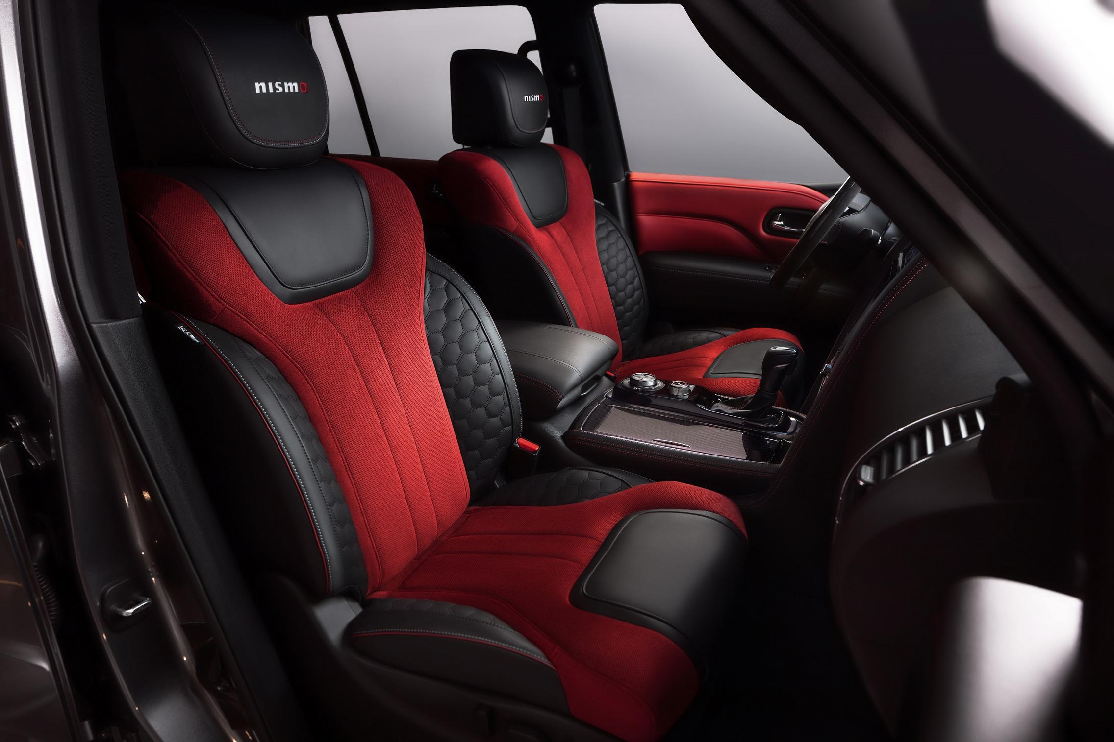 2021 Nissan Patrol NISMO seats