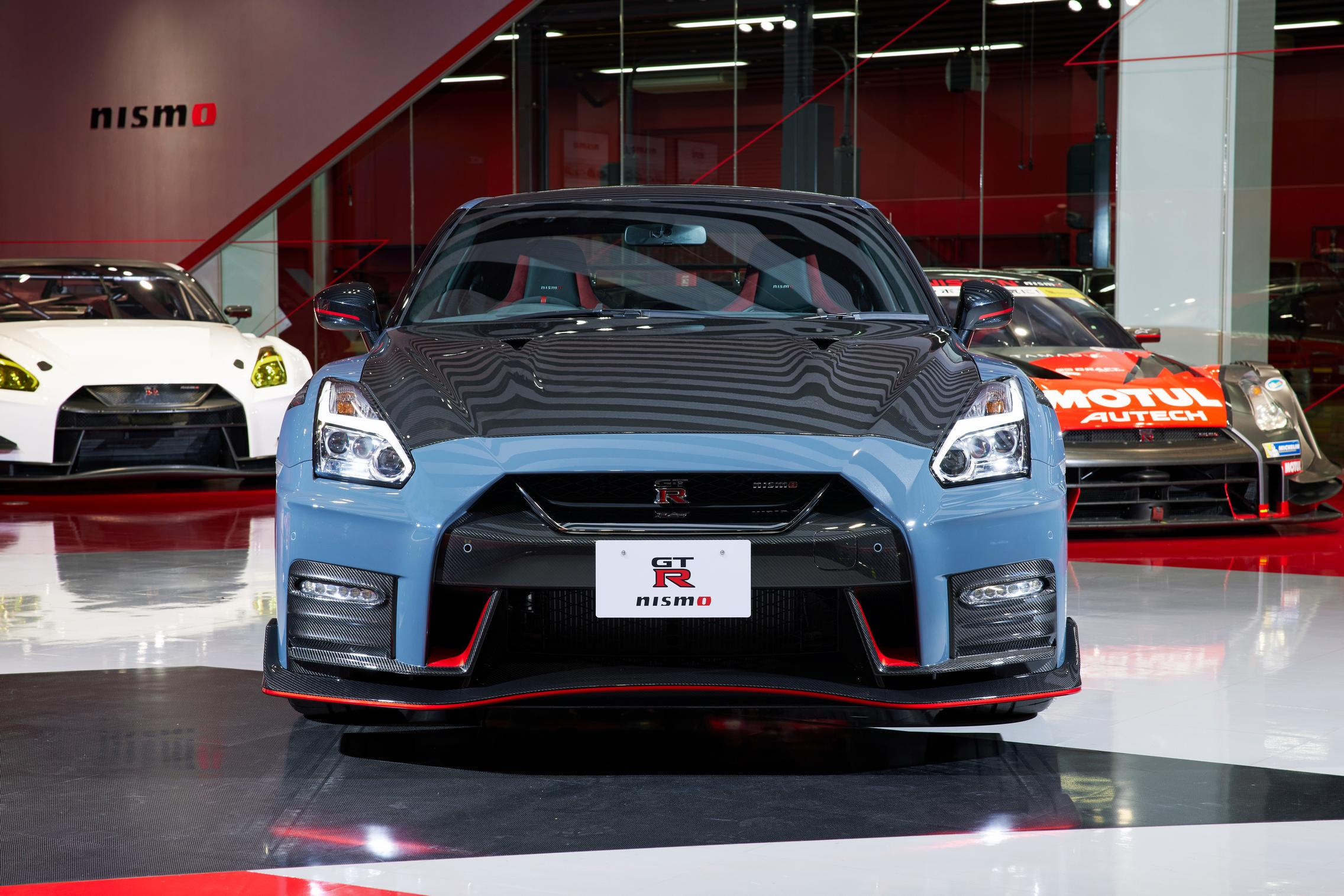 2022 Nissan GT-R Nismo front
