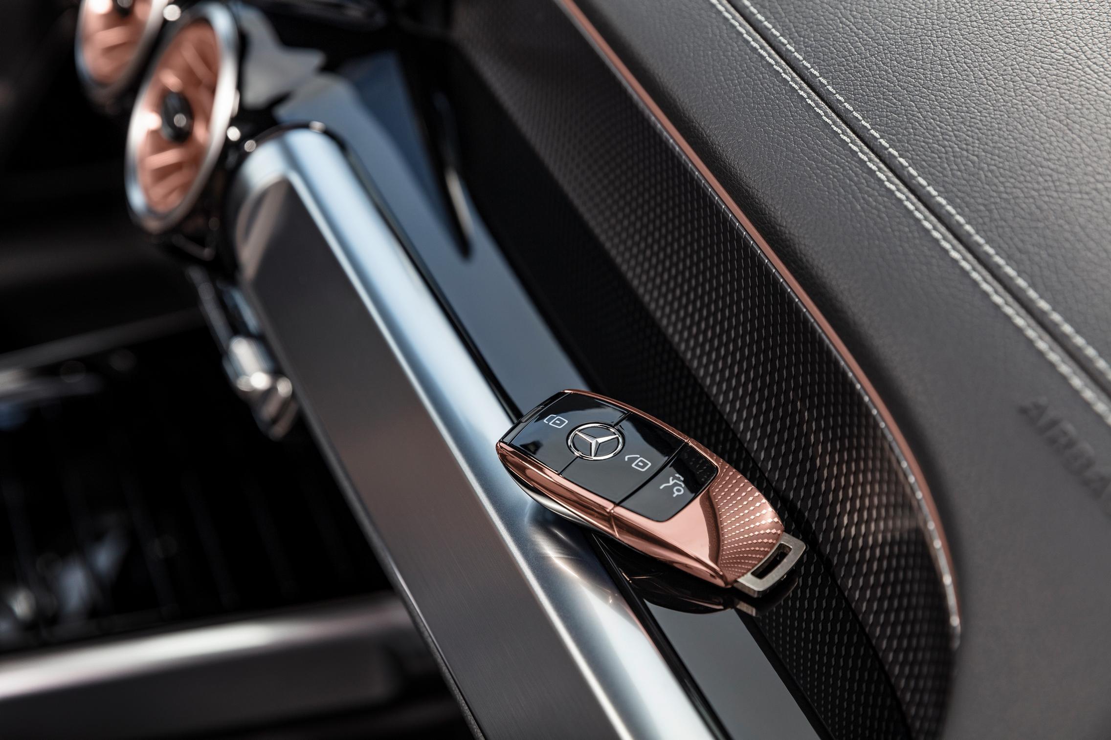 Mercedes-Benz EQB key fob