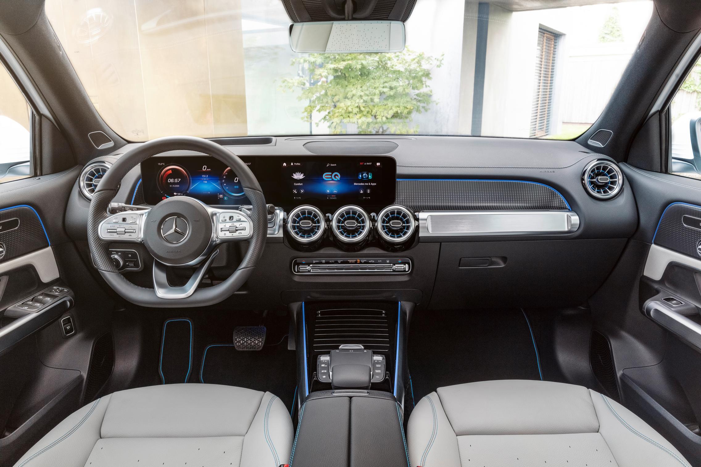 2022 Mercedes-Benz EQB interior