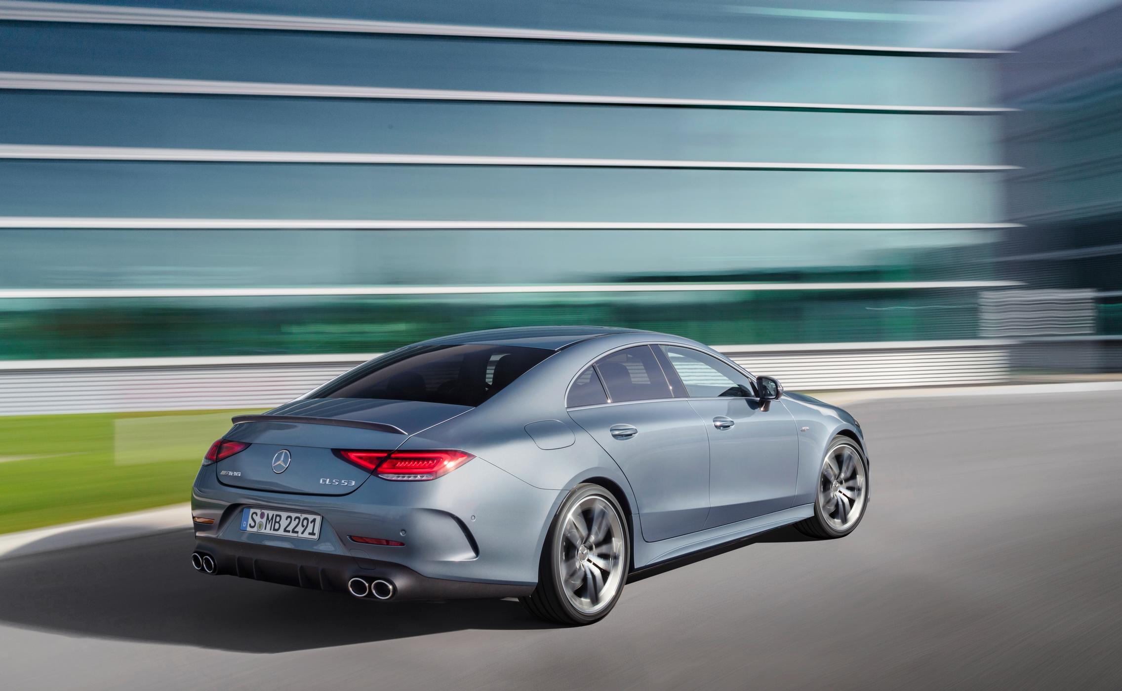 2022 Mercedes-AMG CLS 53 rear