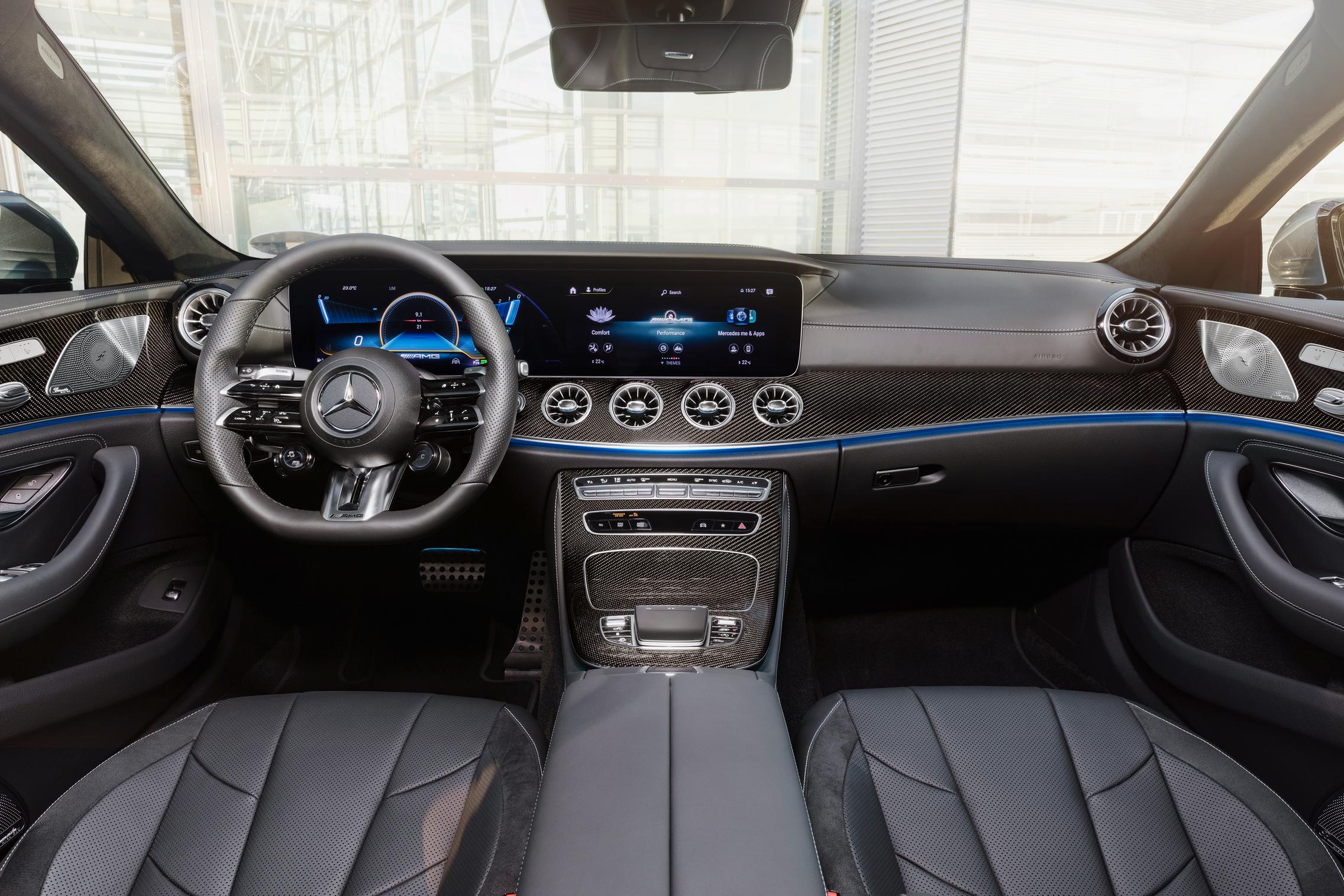 2022 Mercedes-AMG CLS 53 interior