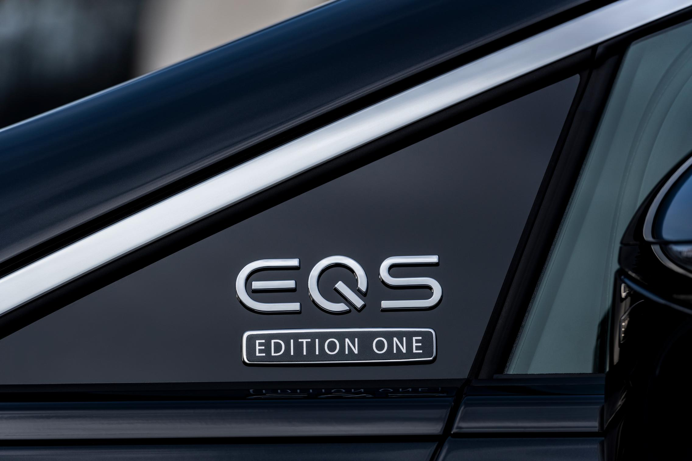 Mercedes EQS Badge