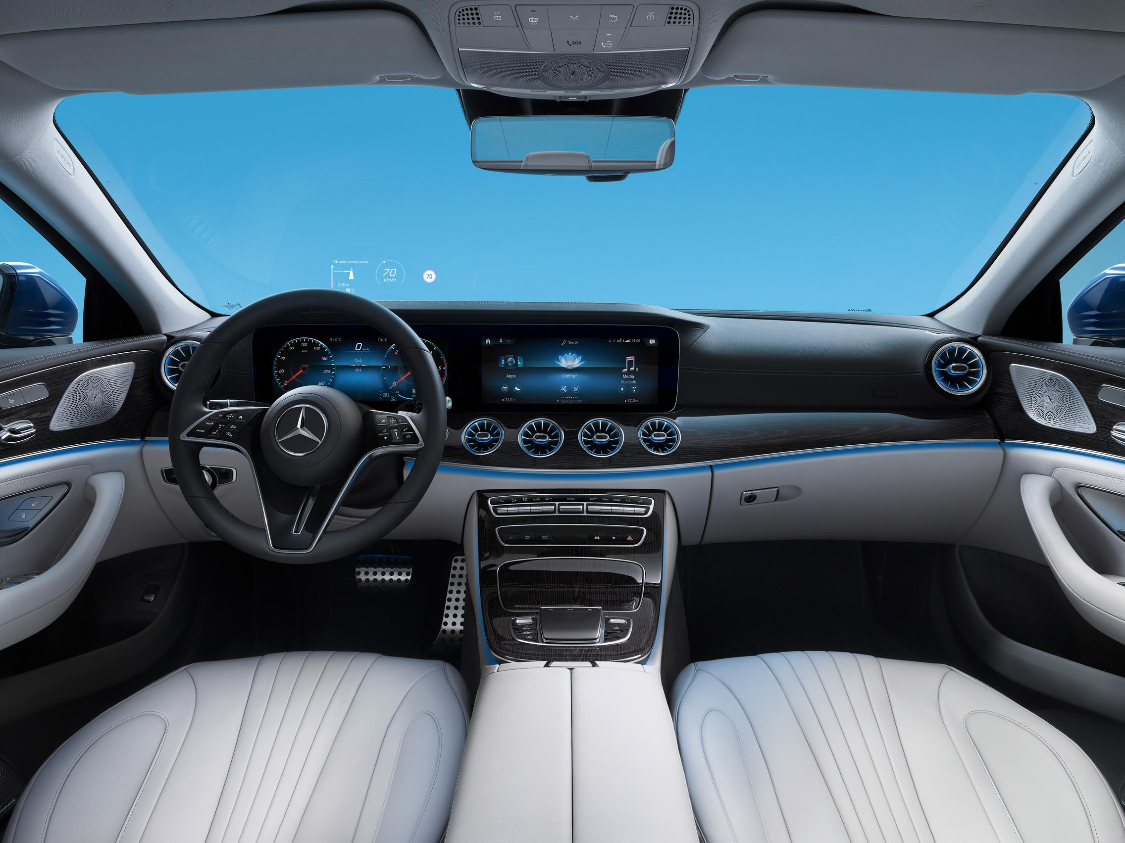Mercedes CLS Coupe interior facelift