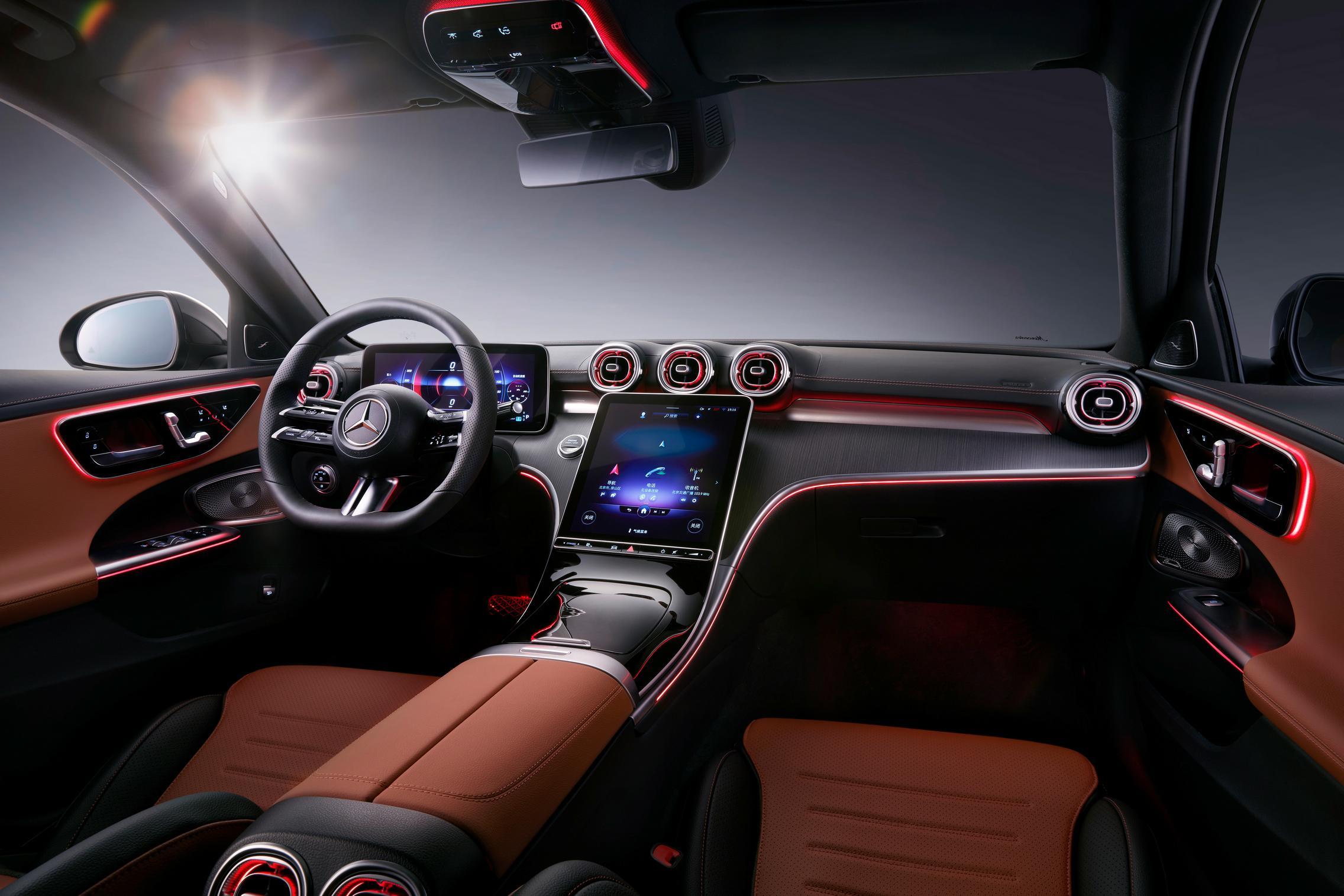 Mercedes C-Class LWB interior