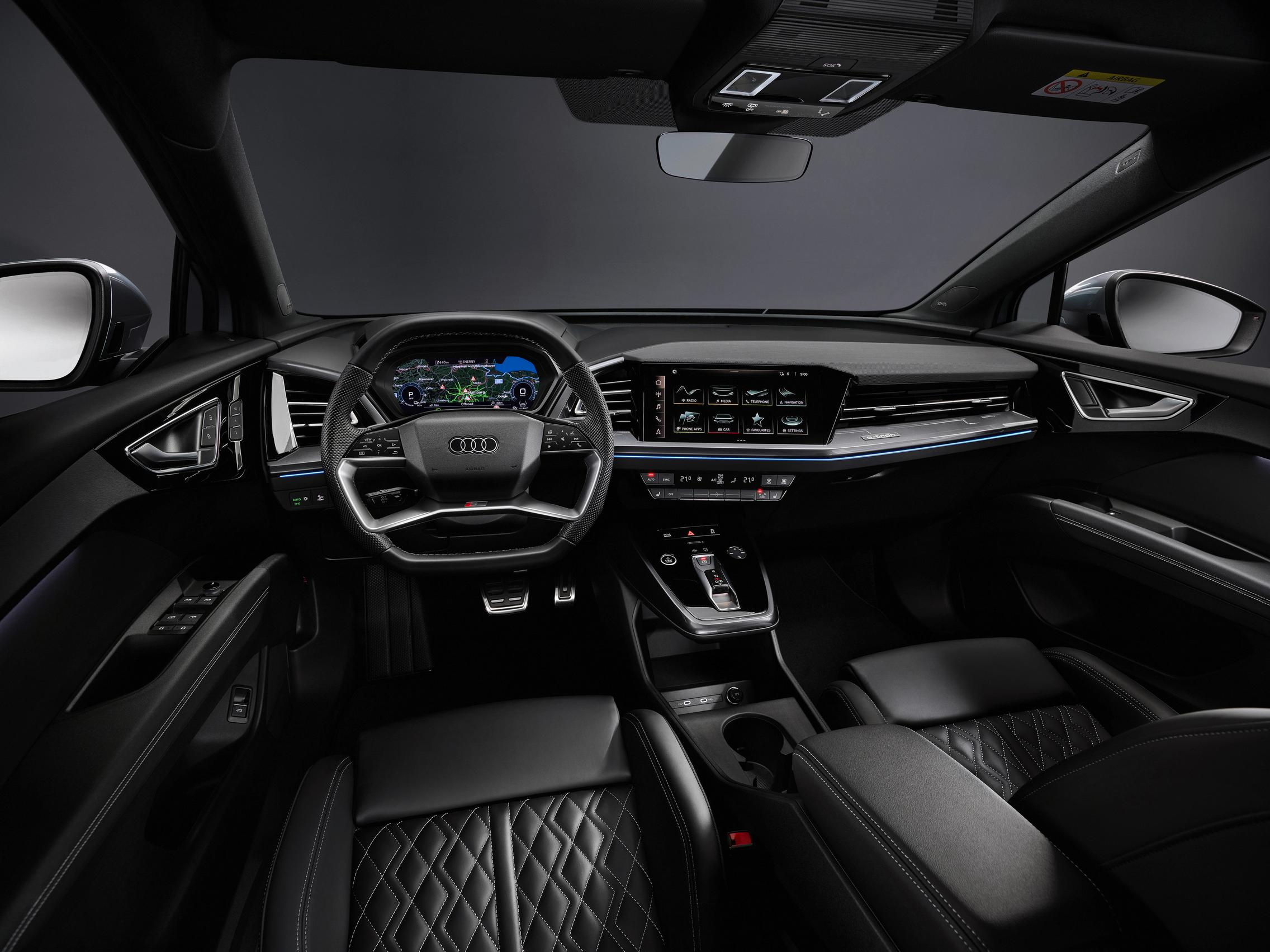 Audi Q4 50 e-tron interior