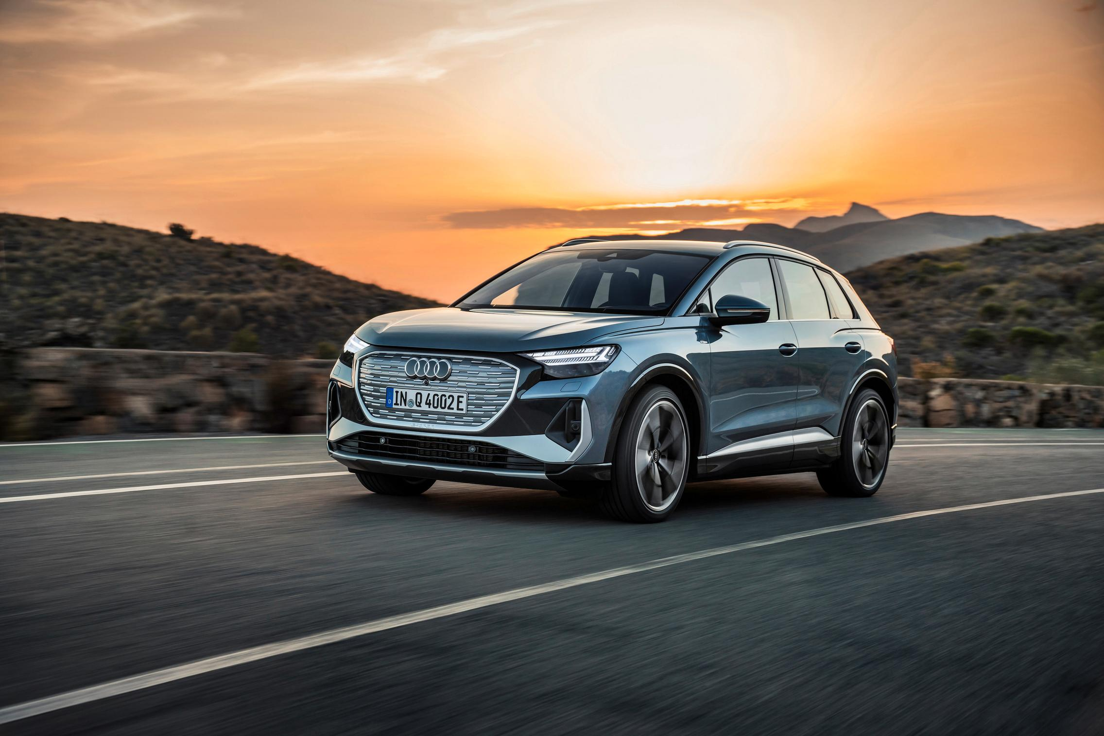 Audi Q4 50 e-tron
