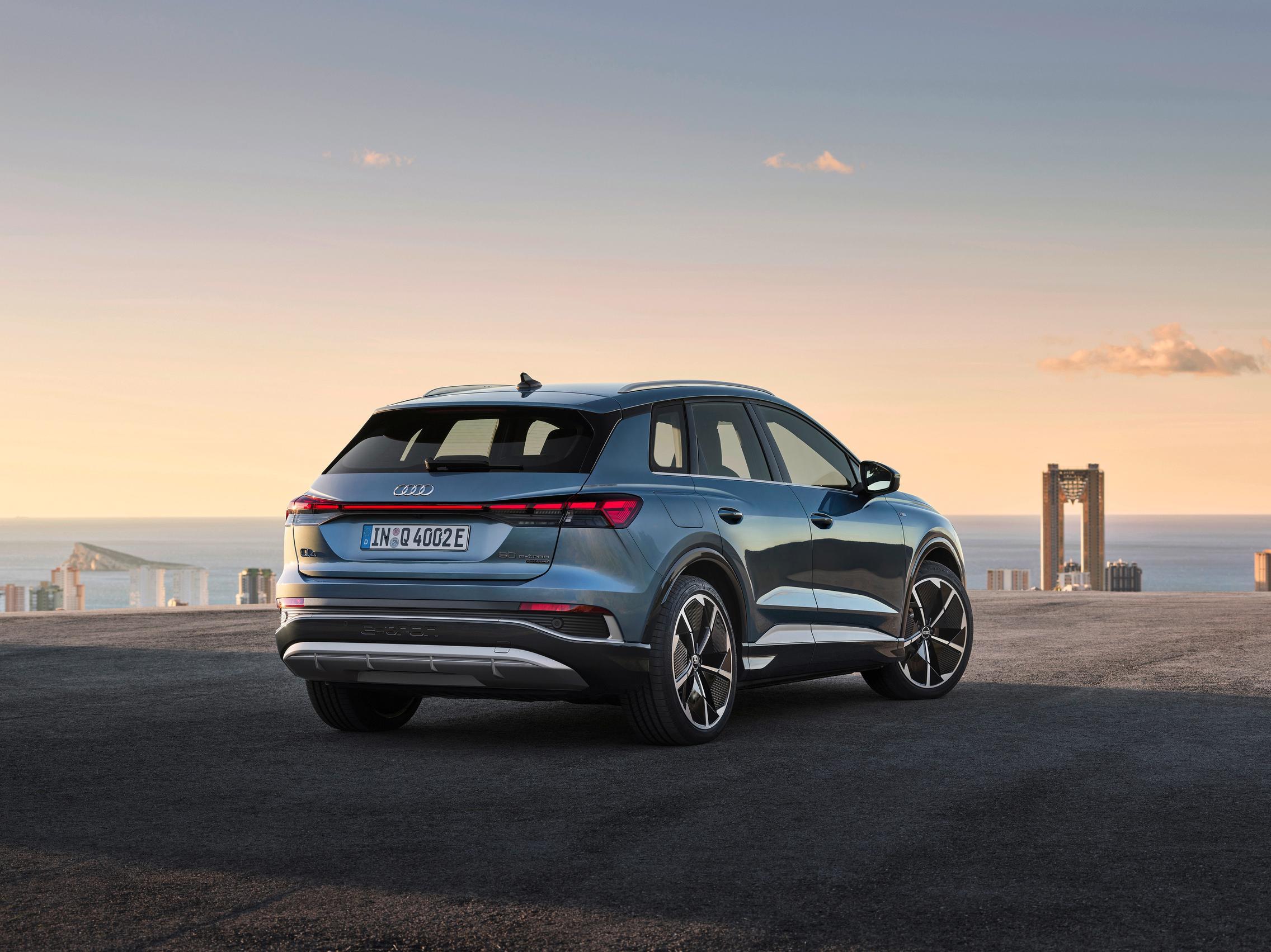 Audi Q4 50 e-tron rear