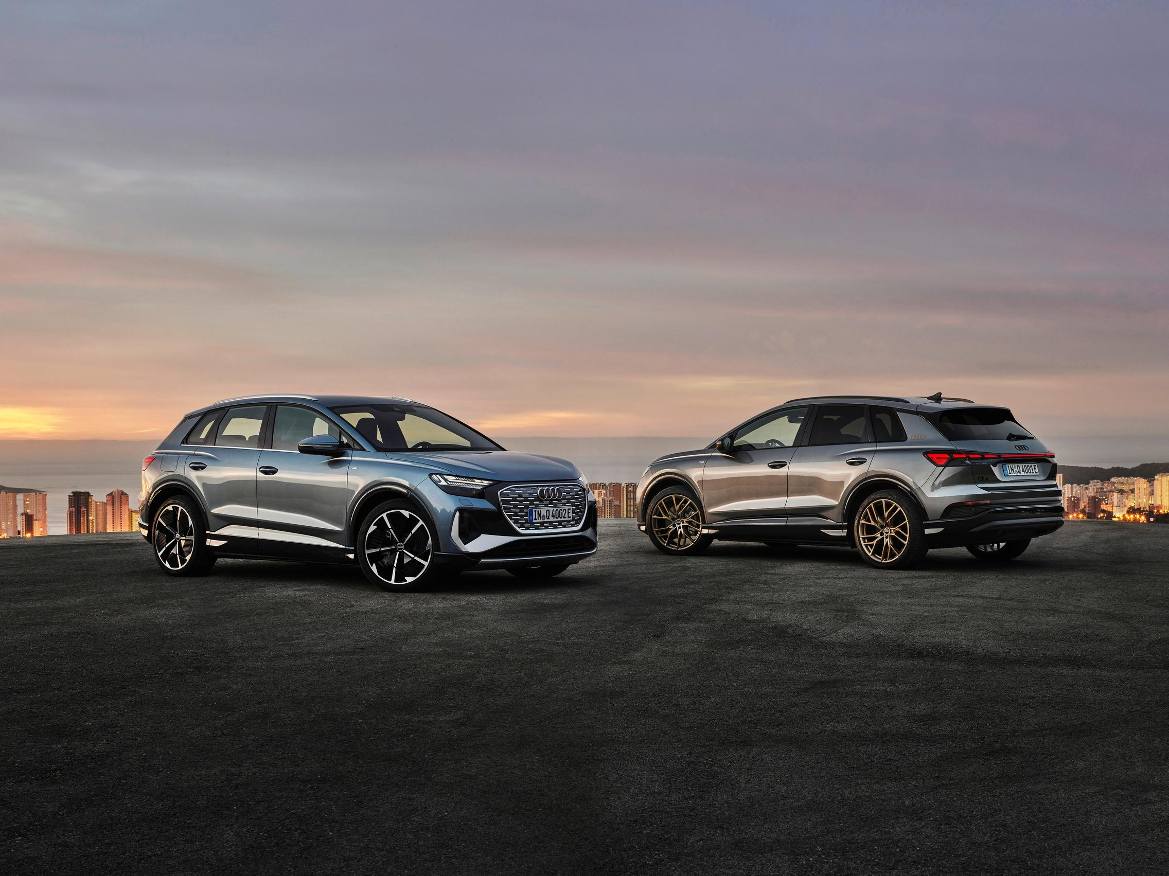 Audi Q4 50 e-tron vs Sportback