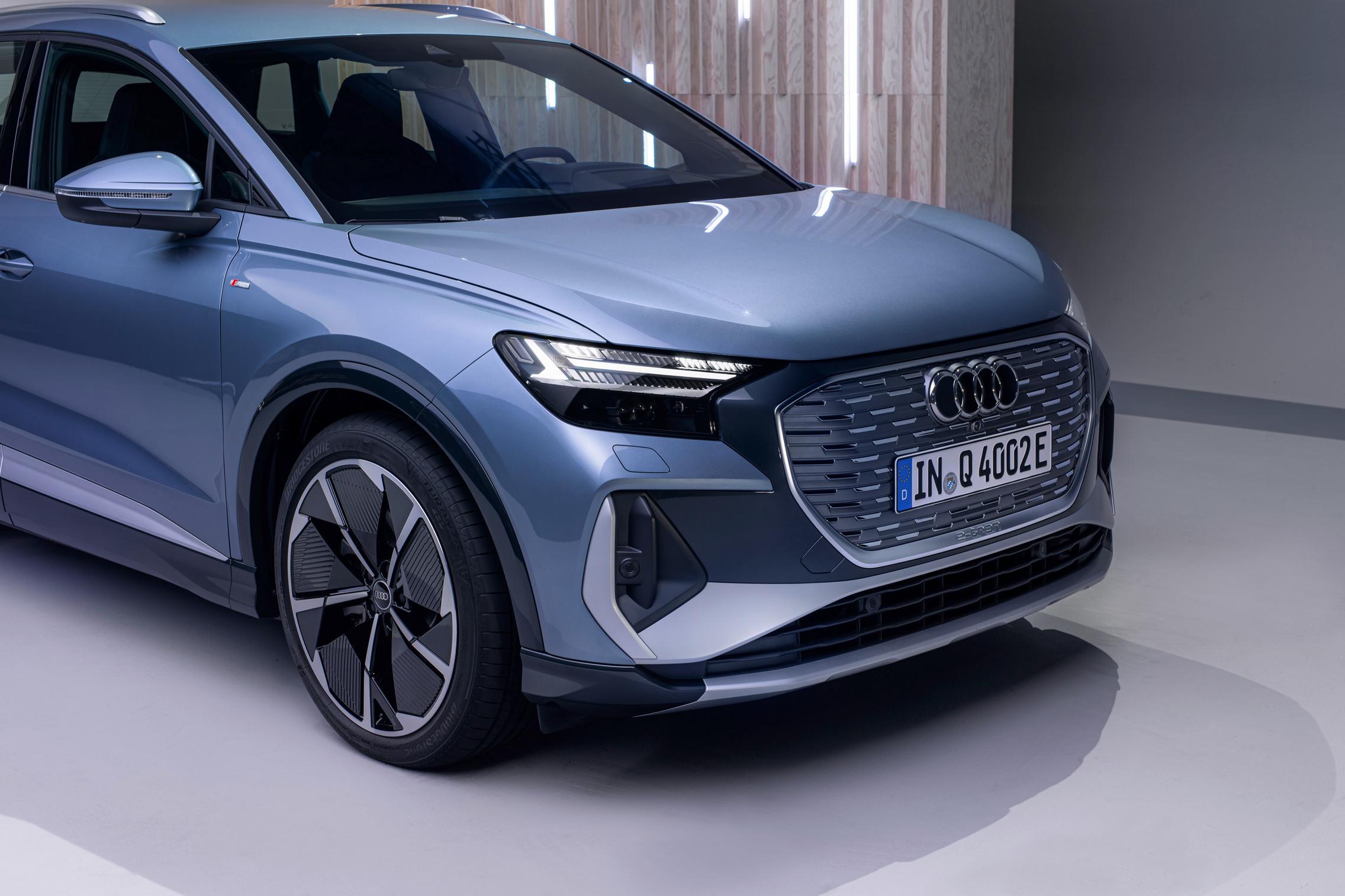 Audi Q4 50 e-tron front