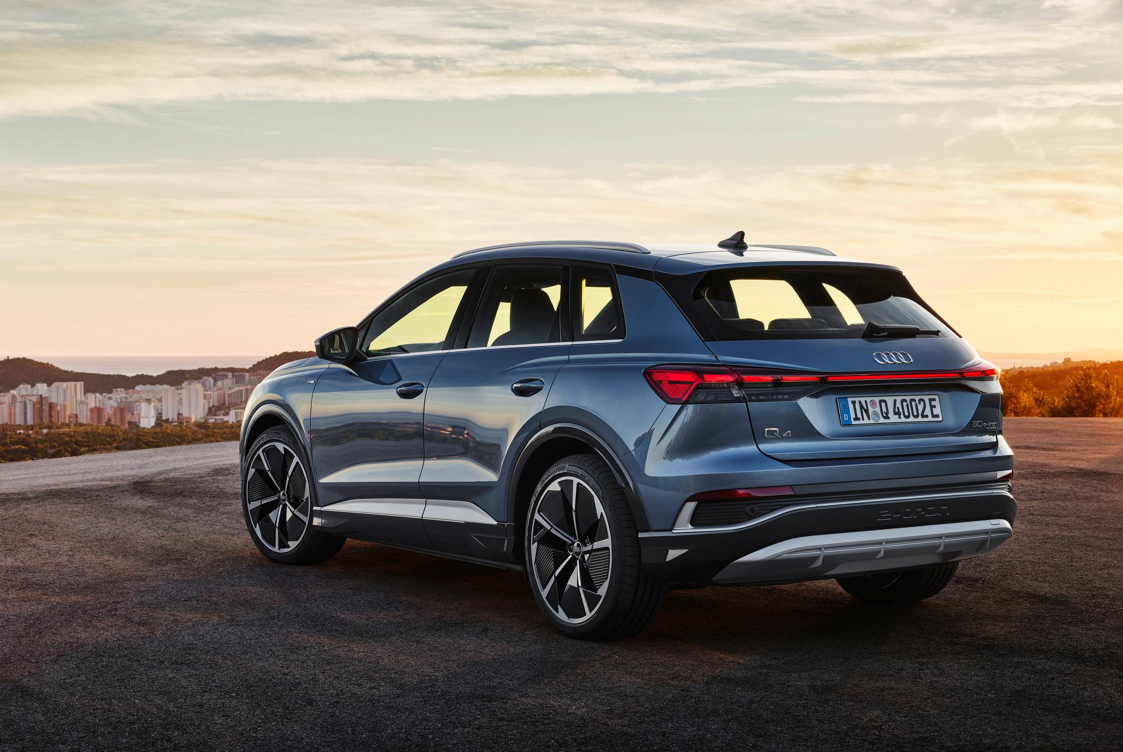 Audi Q4 50 e-tron price
