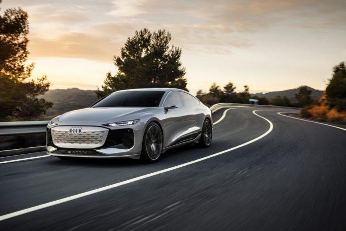 2022 Audi A6 e-tron concept