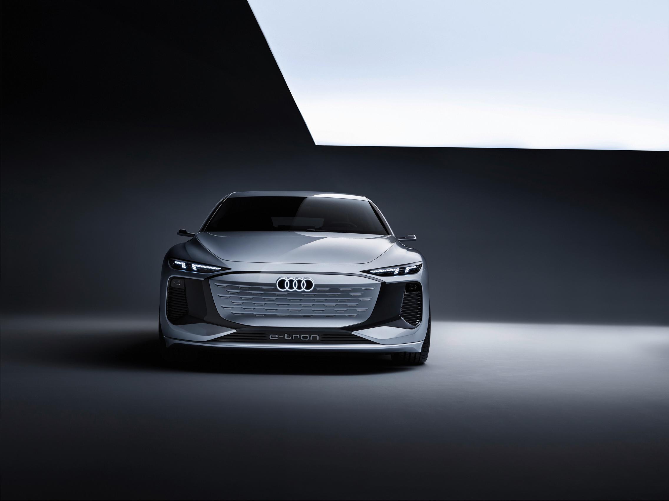 Audi A6 e-tron concept front