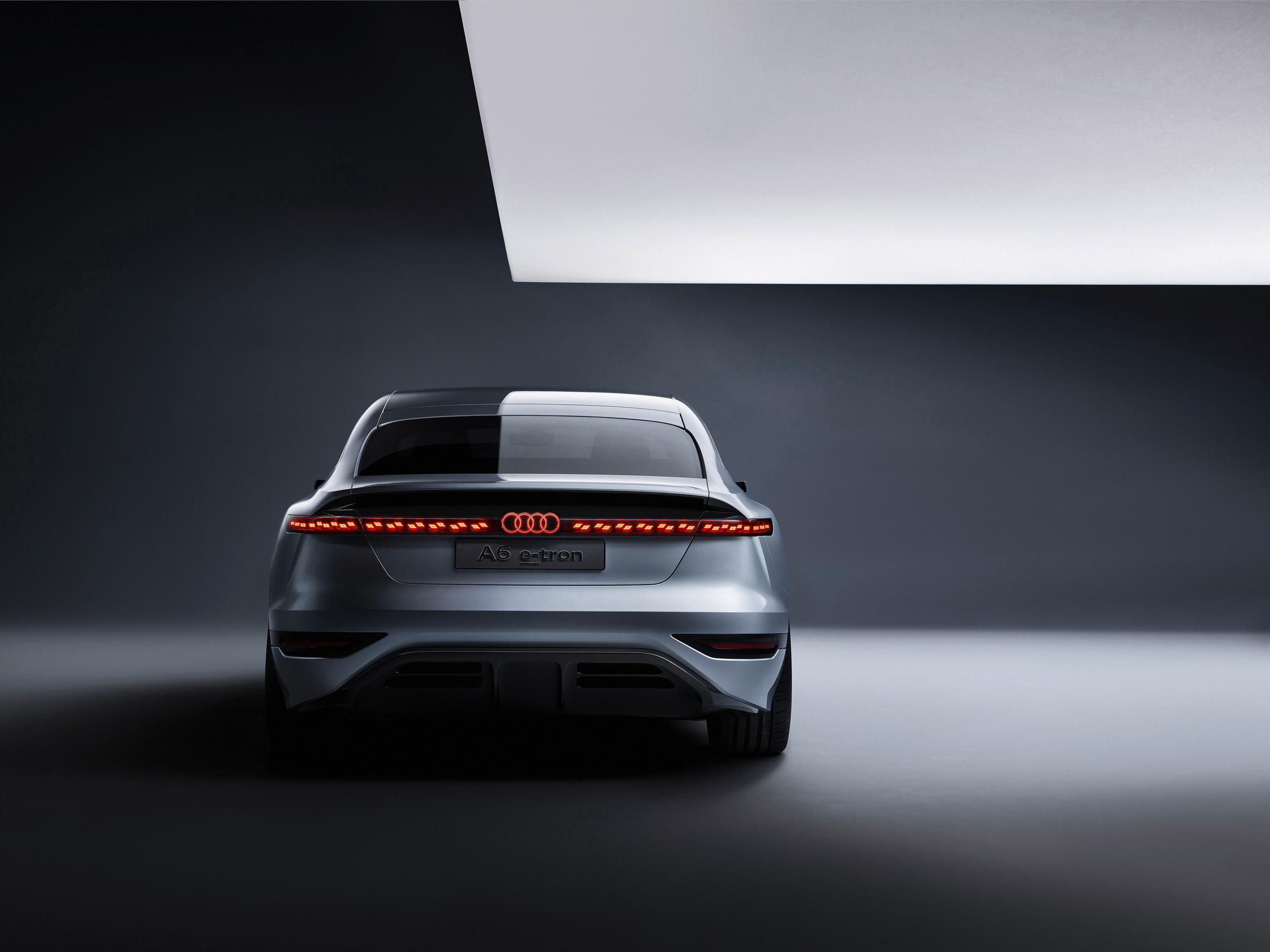 Audi A6 e-tron concept rear