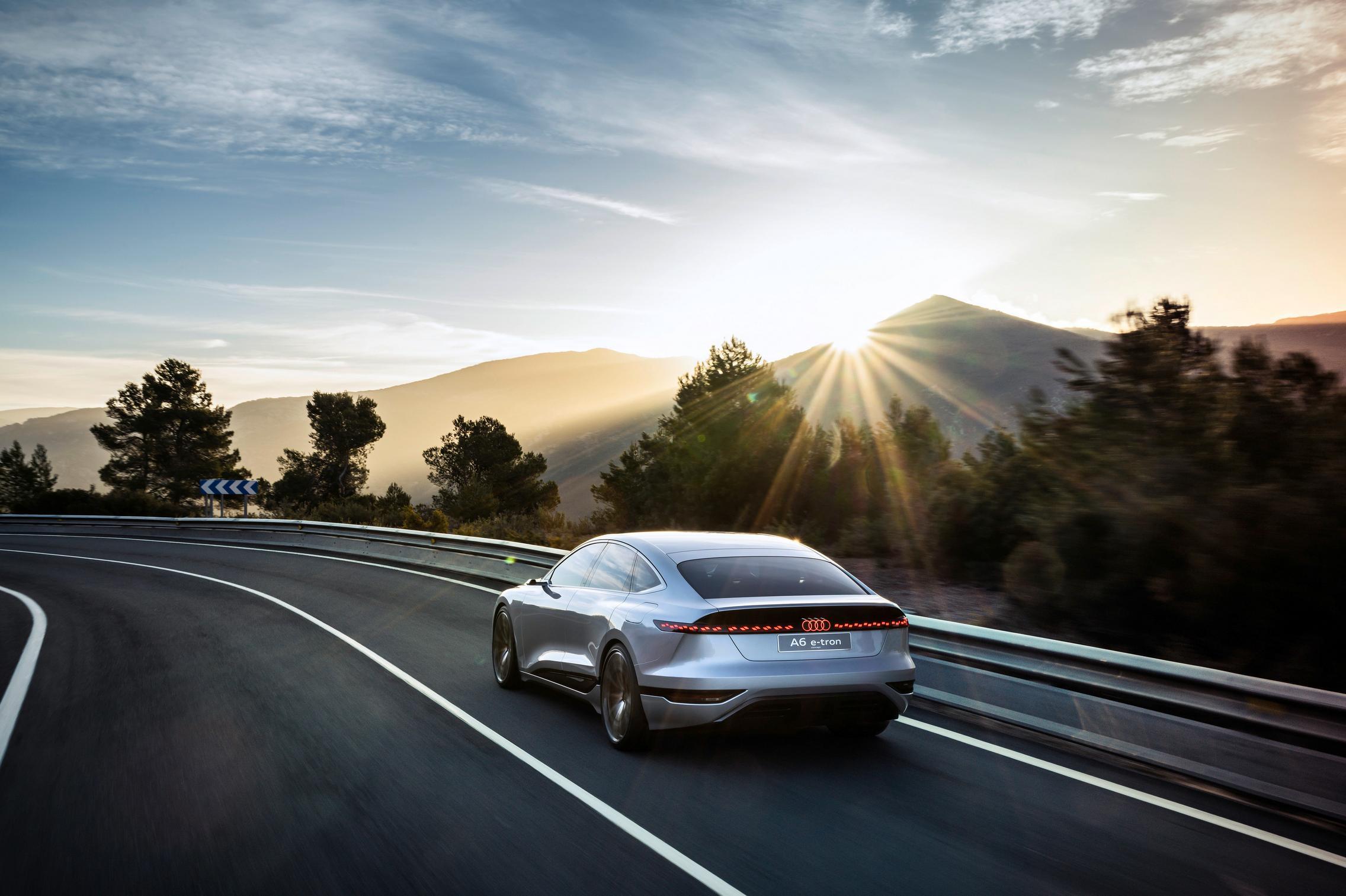 Audi A6 e-tron concept specs