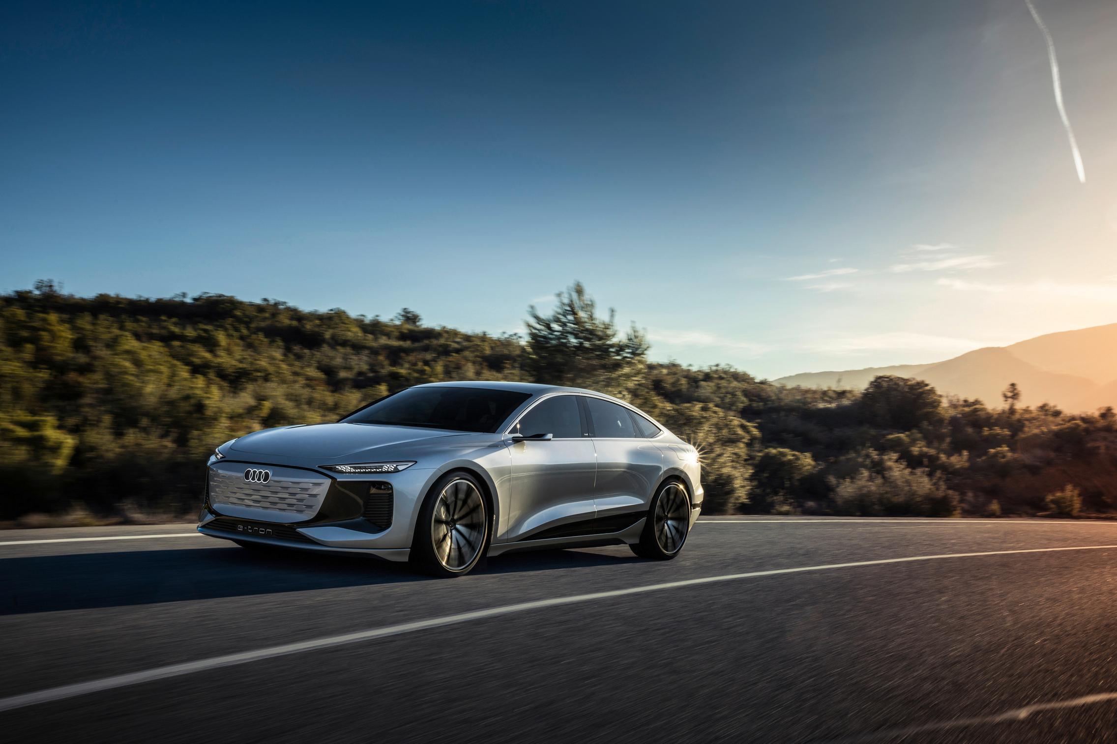 Helio Silver Audi A6 e-tron price