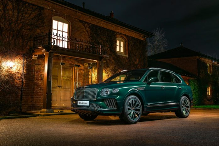 Bentley Mulliner Reveals One-Off Viridian Bentayga for Chinese Customer