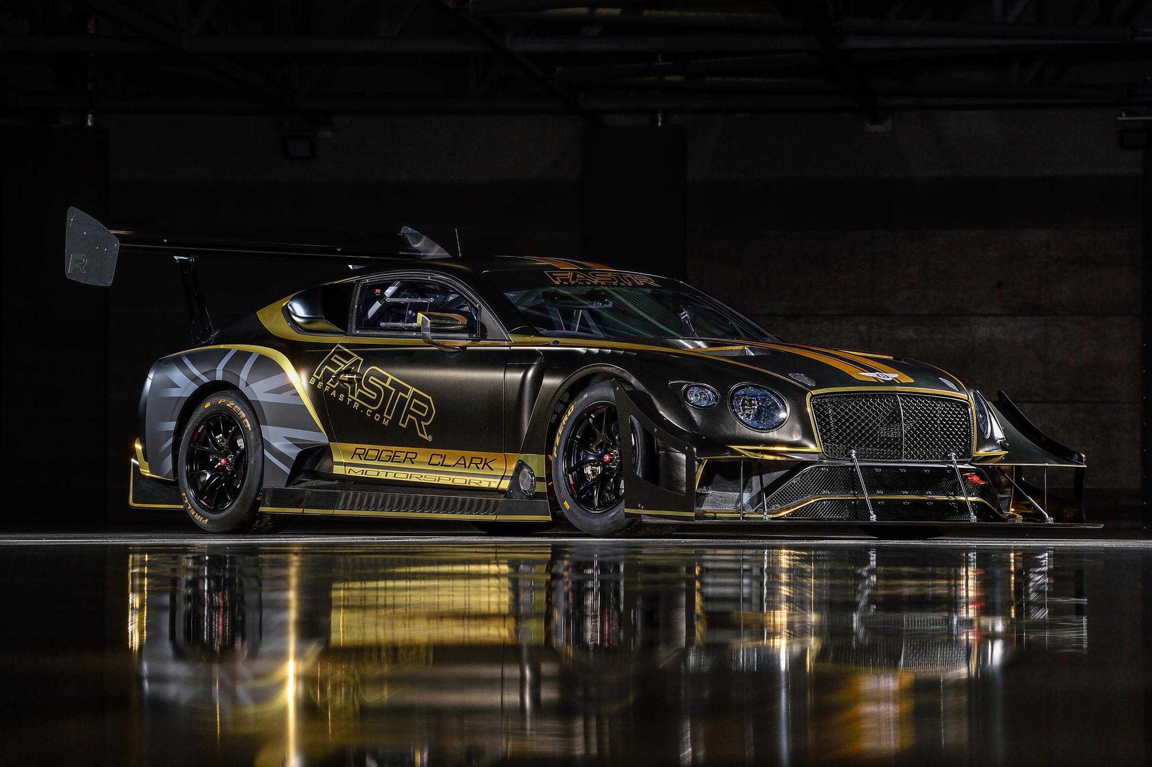 Bentley Continental GT3 Pikes Peak black