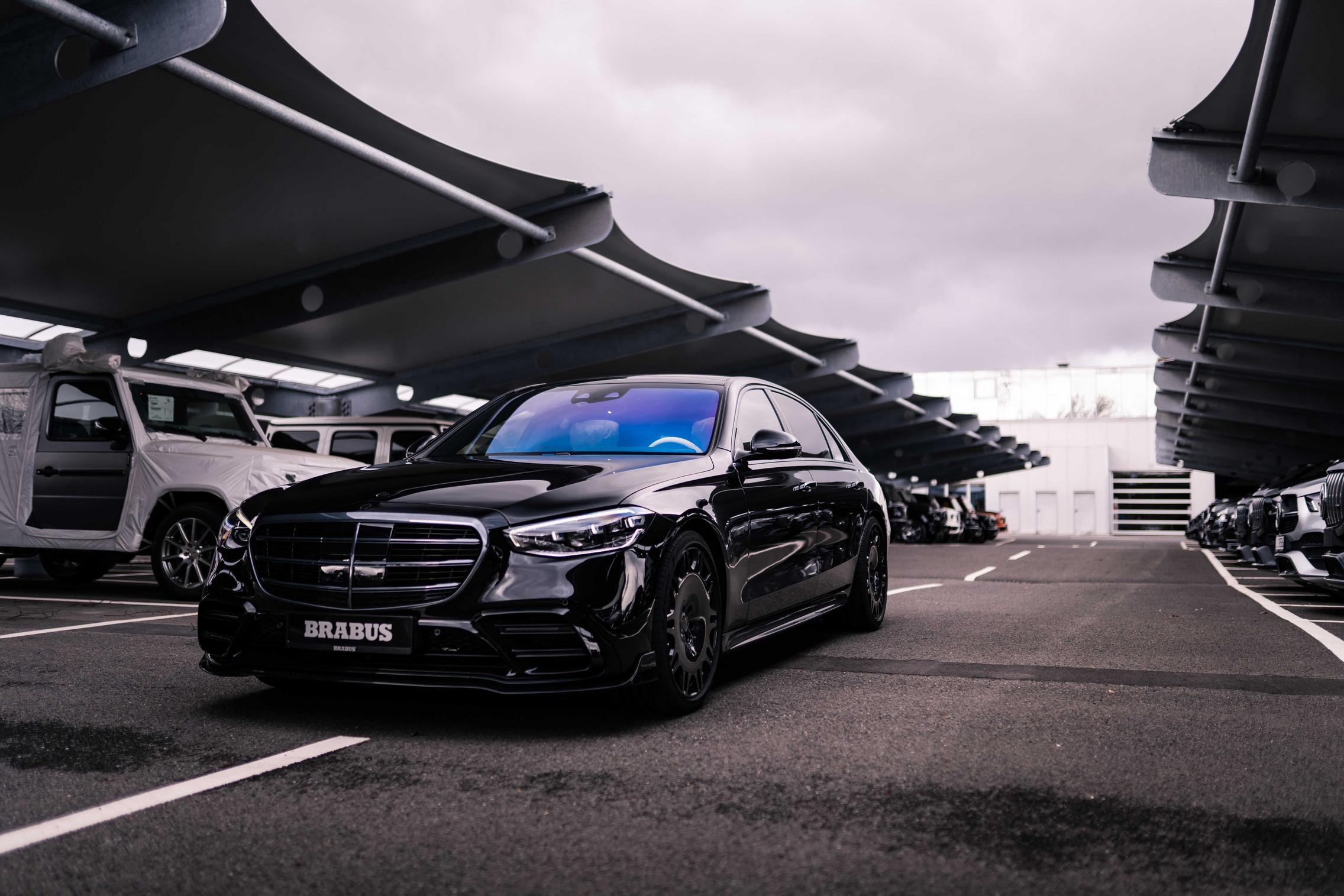Brabus S-Class Black