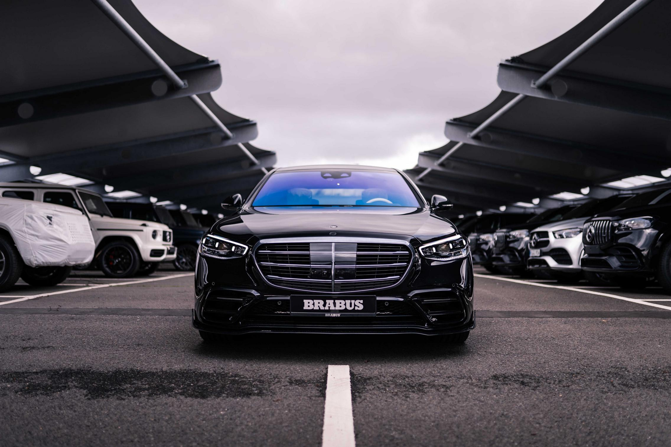 Brabus S-Class front