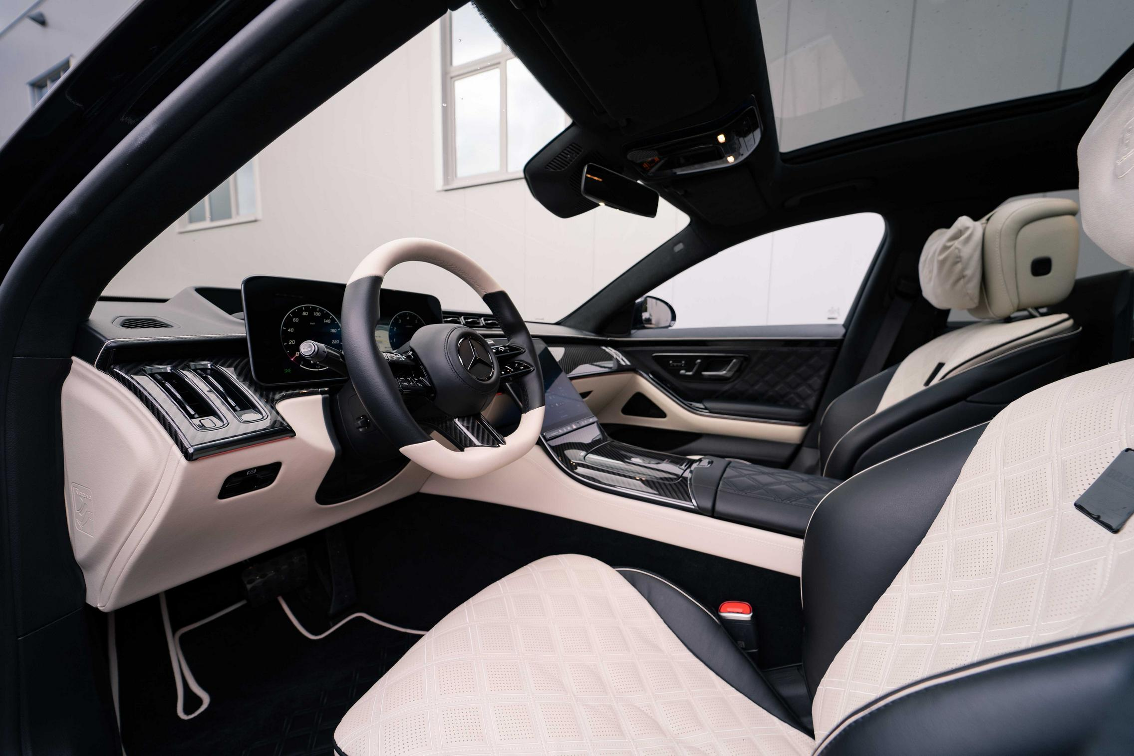 Brabus S-Class interior