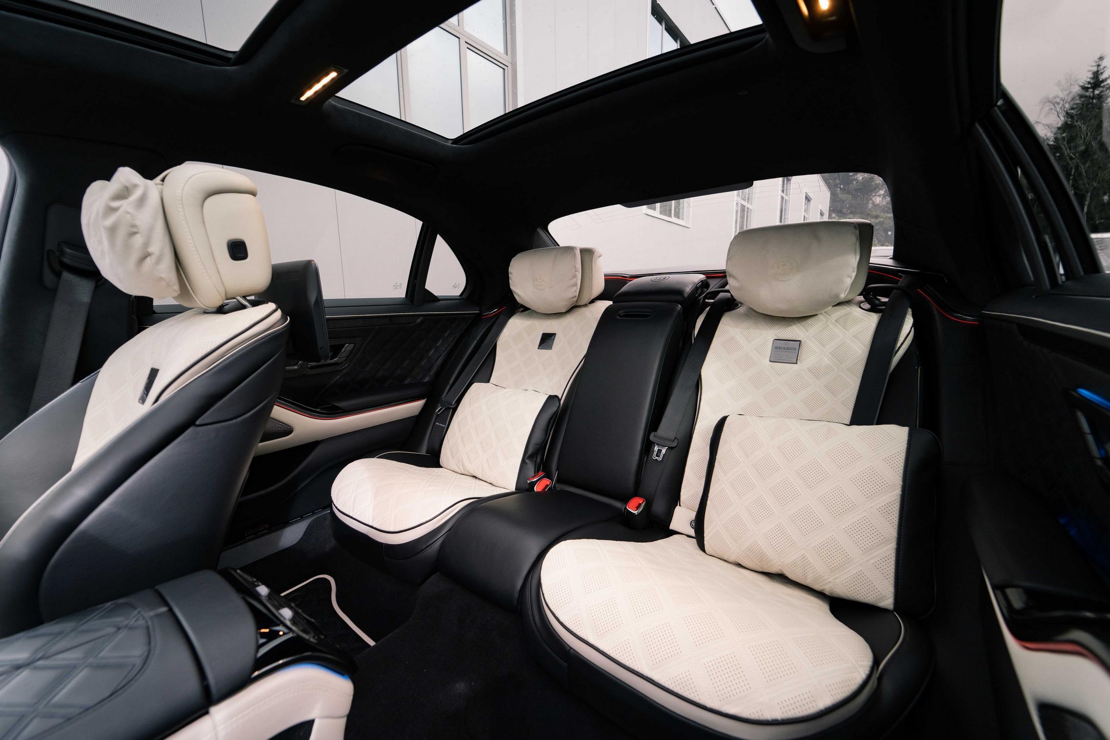 Brabus S-Class rear seats