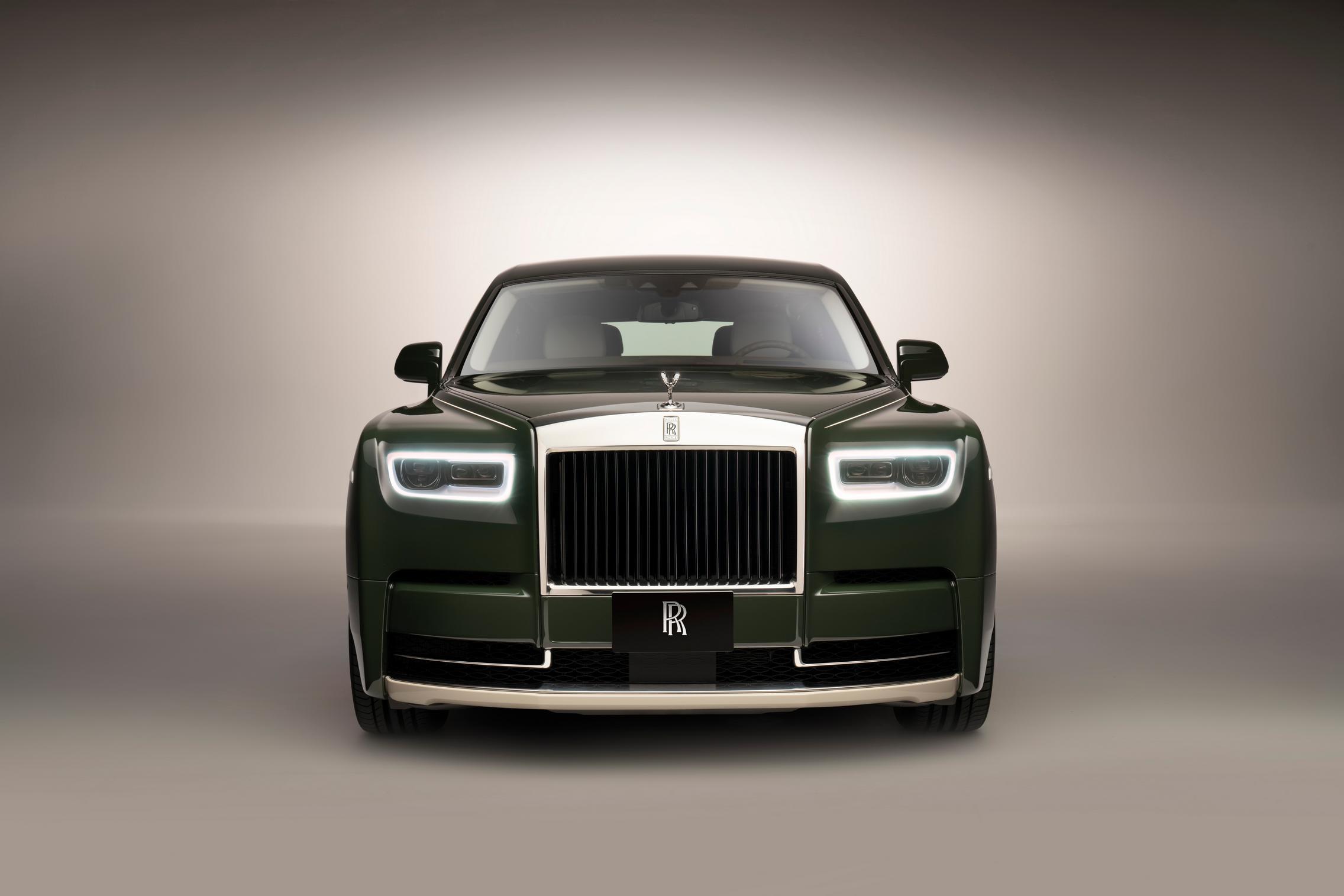 Hermes Rolls-Royce Phantom front