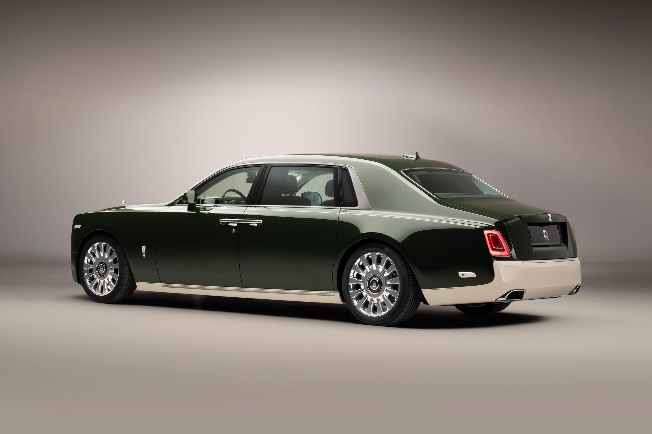 Hermes Rolls-Royce Phantom rear