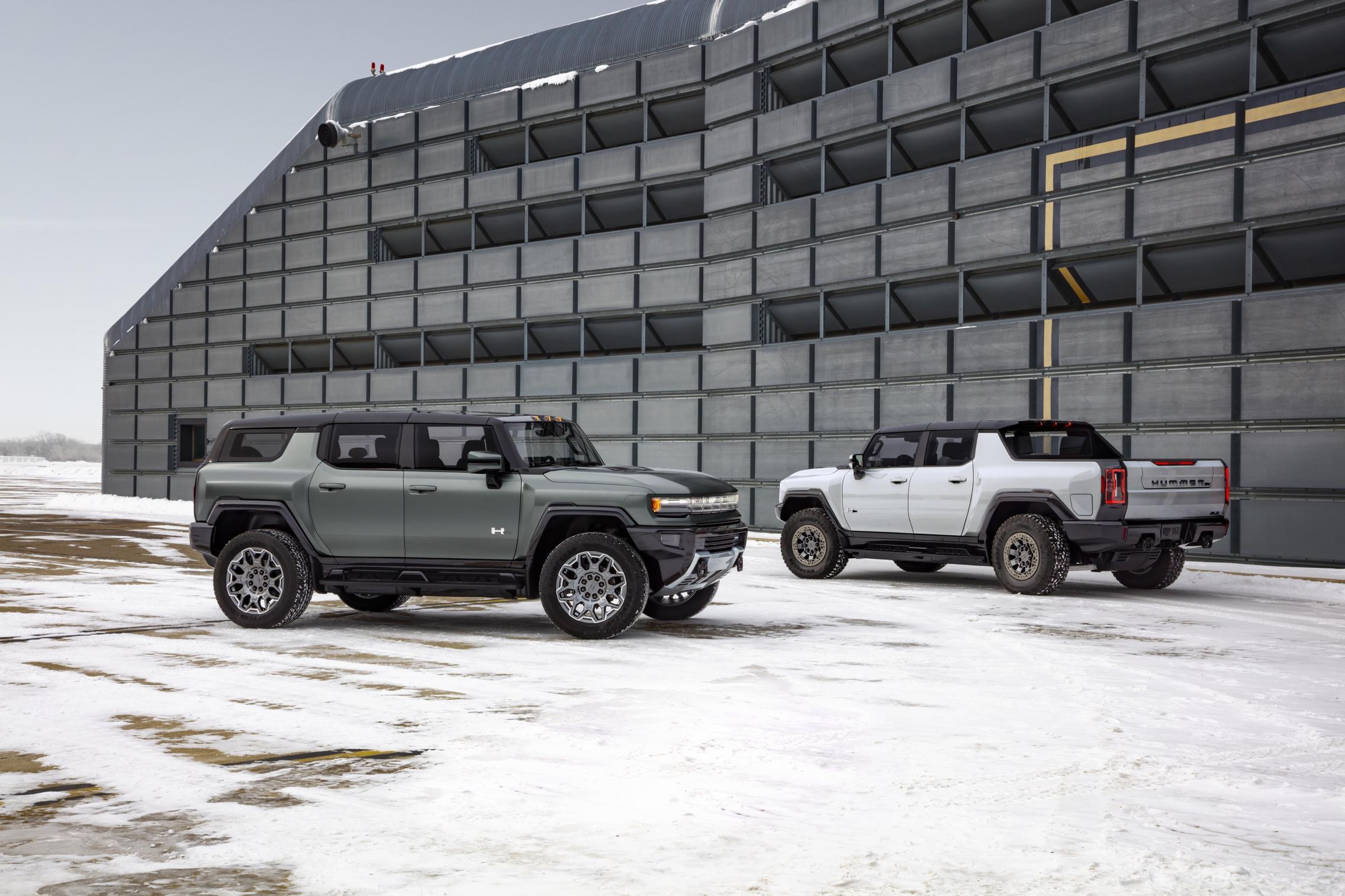 Hummer EV SUV and Pickup