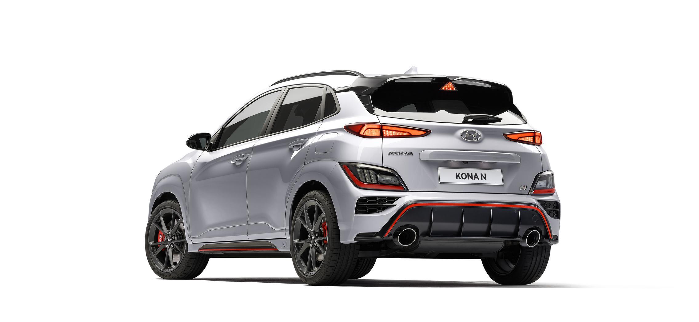 Hyundai Kona N rear