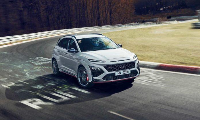 Hyundai Kona N specs