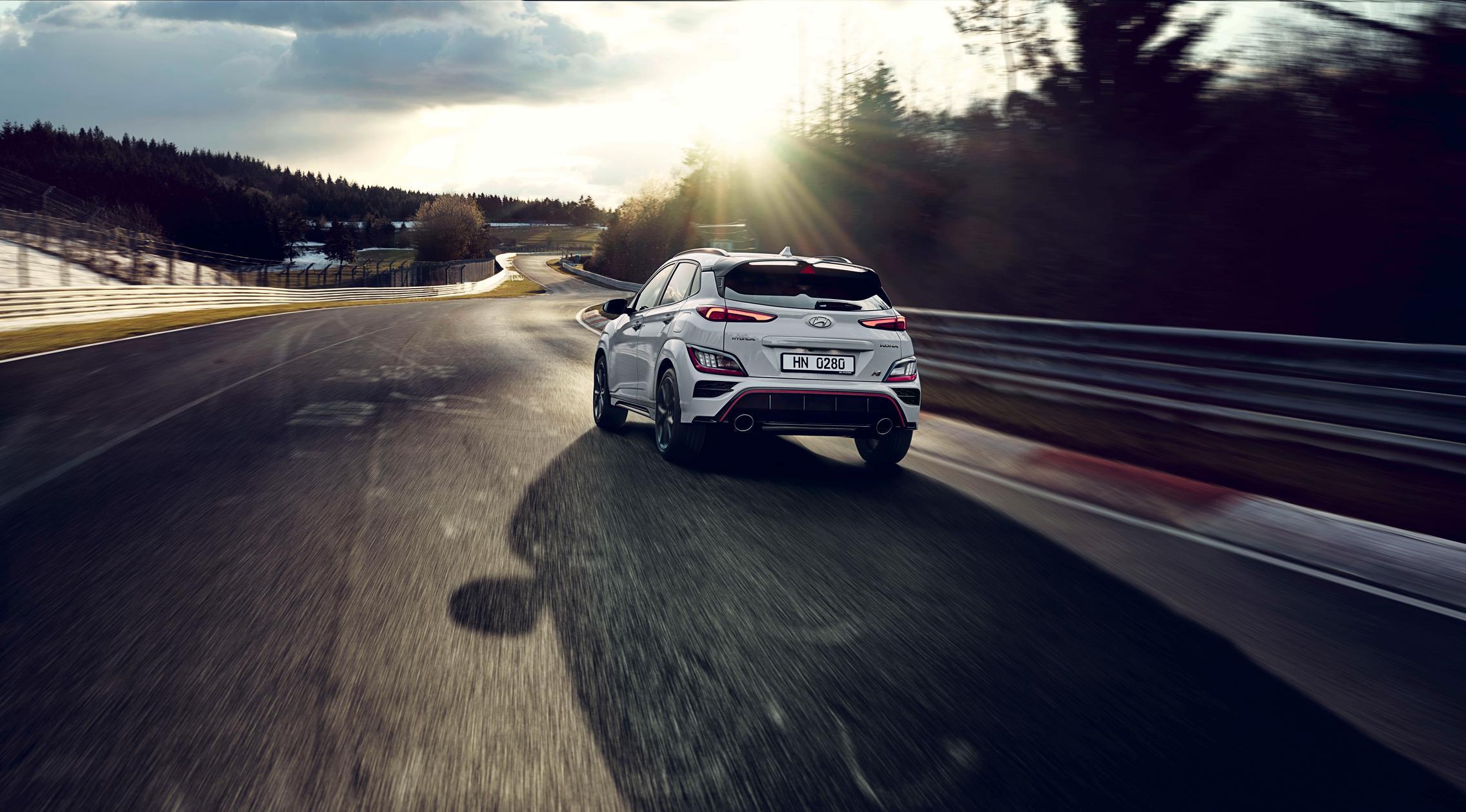 Hyundai Kona N track