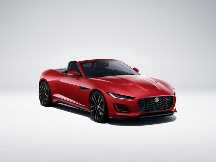2021 Jaguar F-Type R-Dynamic Black Announced with Fresh Updates