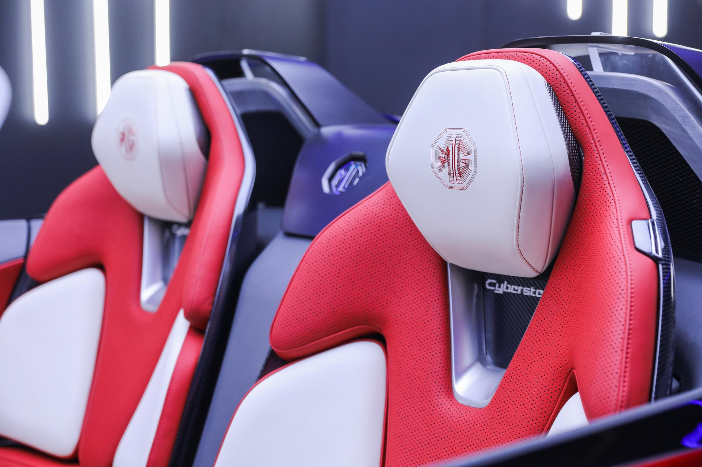 MG Cyberster seats