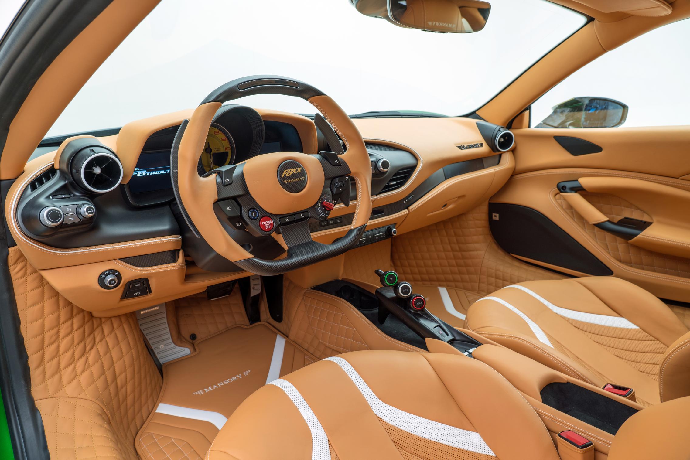 Mansory F8XX interior