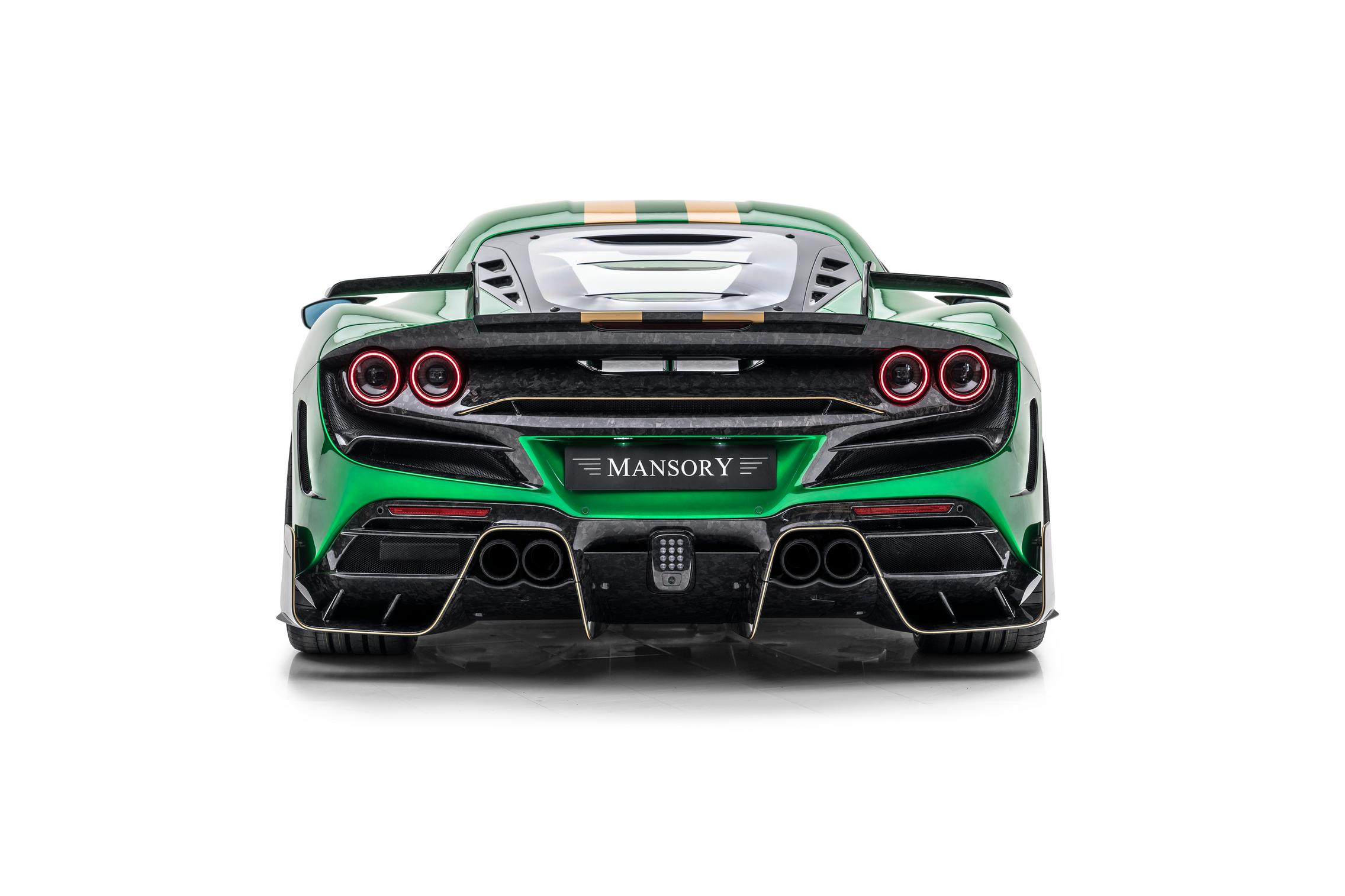 Mansory F8XX rear lights