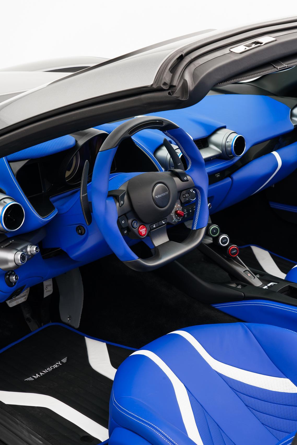 Mansory Stallone steering wheel