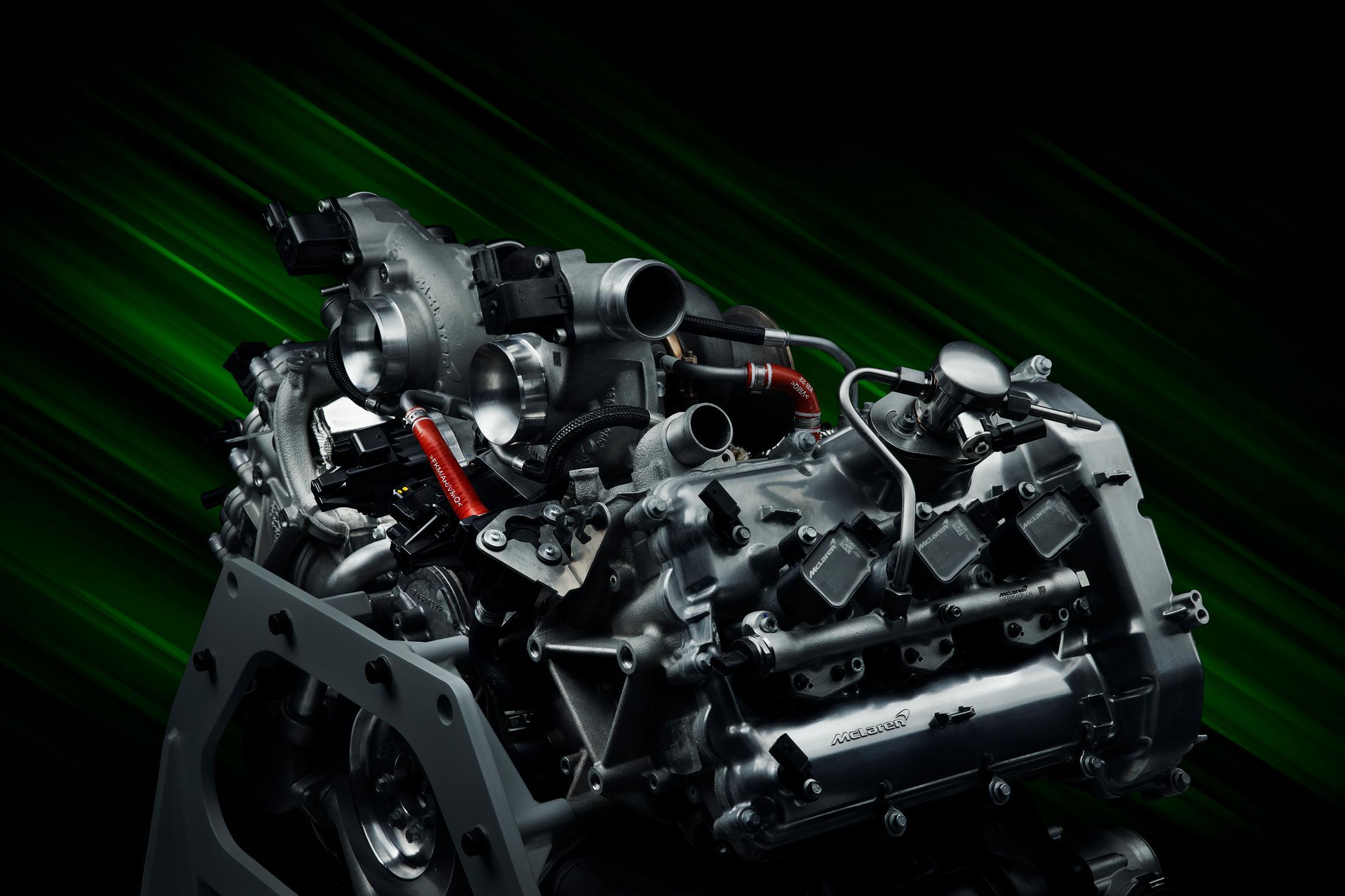 McLaren Artura engine