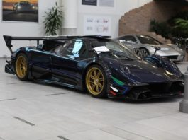 Pagani Zonda Revolucion road legal