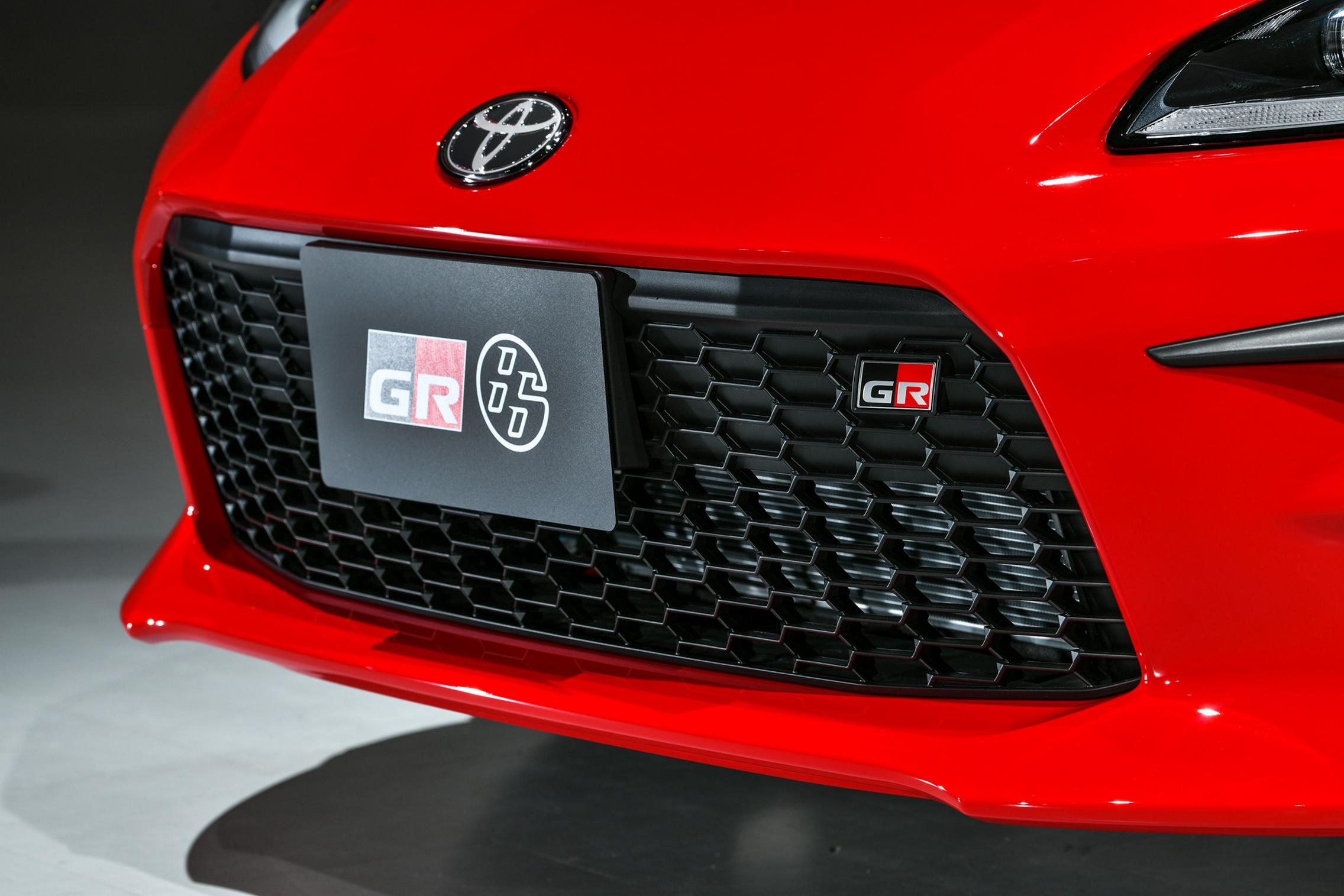 Toyota GR 86 grille