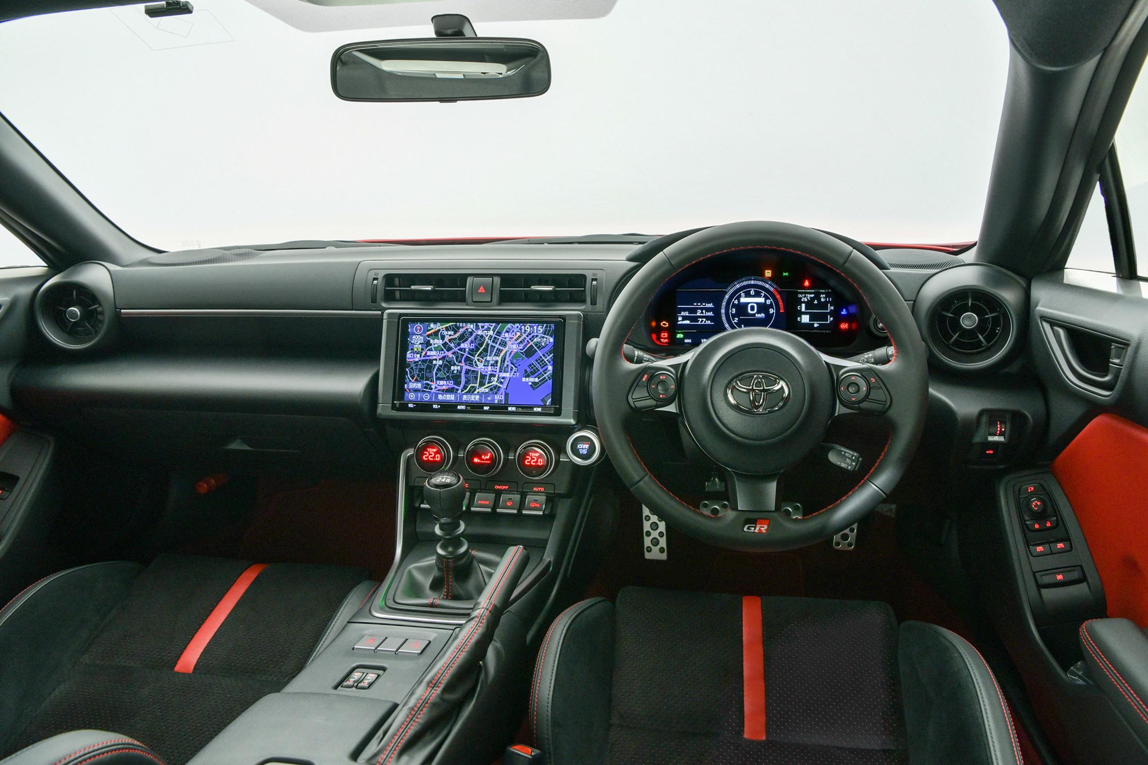 Toyota GR 86 interior