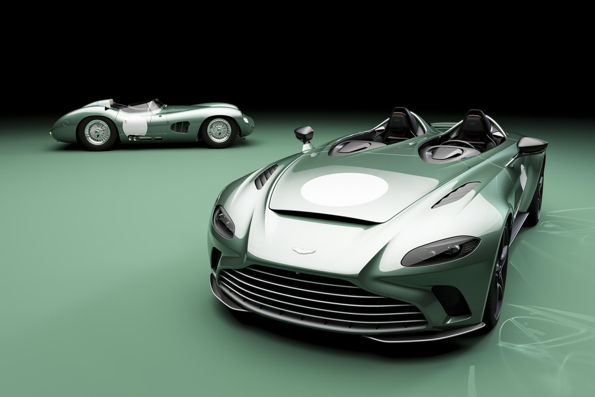 2021 Aston Martin V12 Speedster