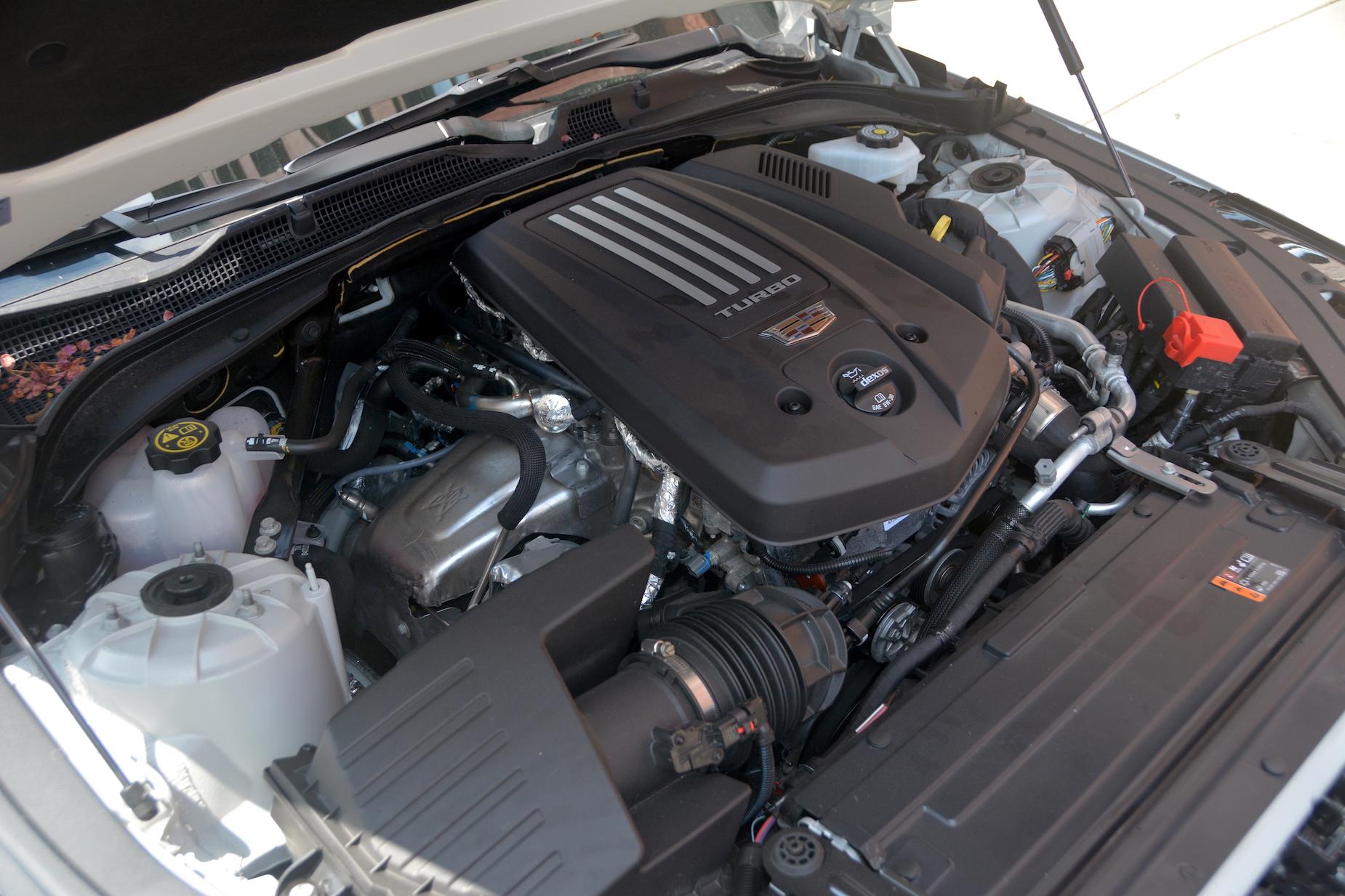 2021 Cadillac CT4-V engine