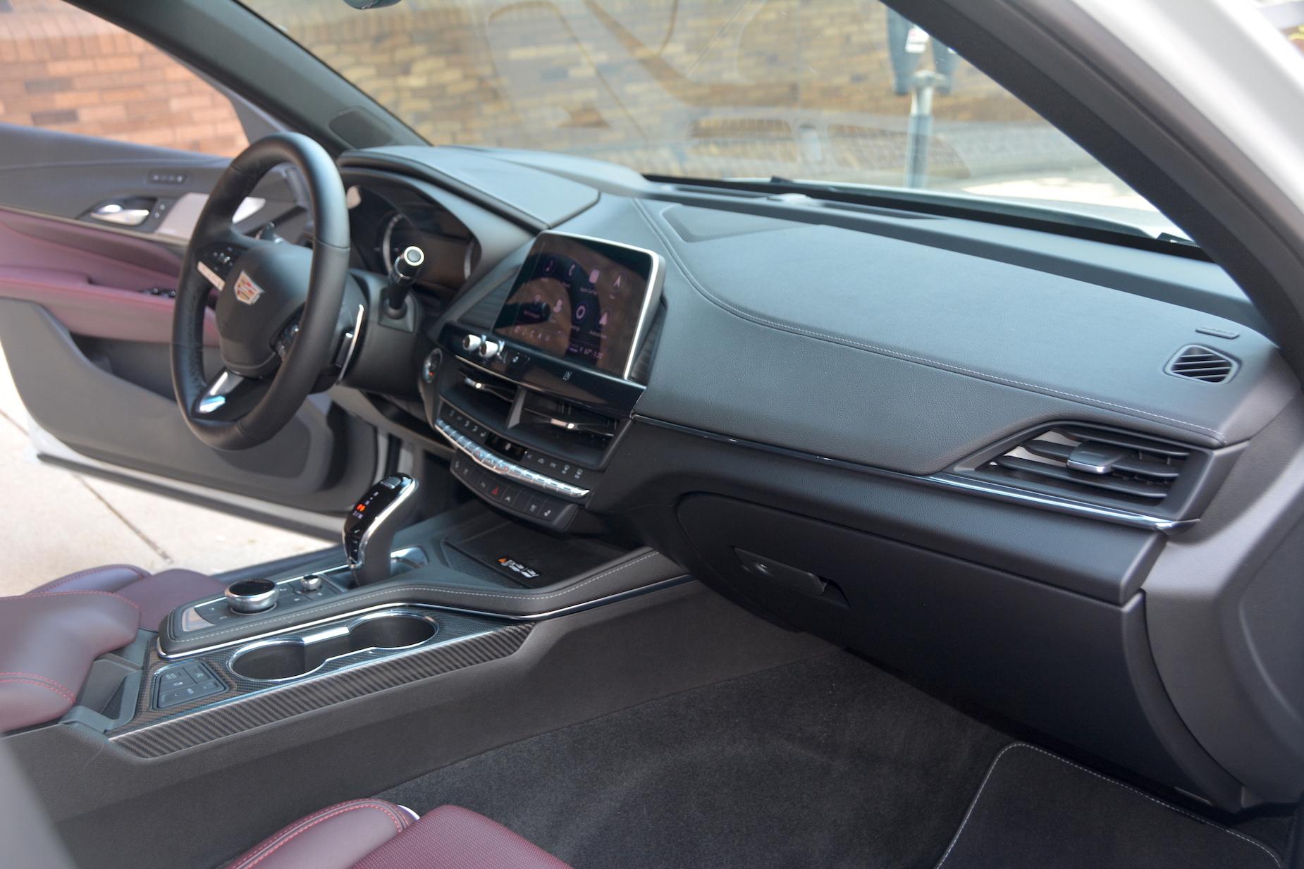 2021 Cadillac CT4-V interior
