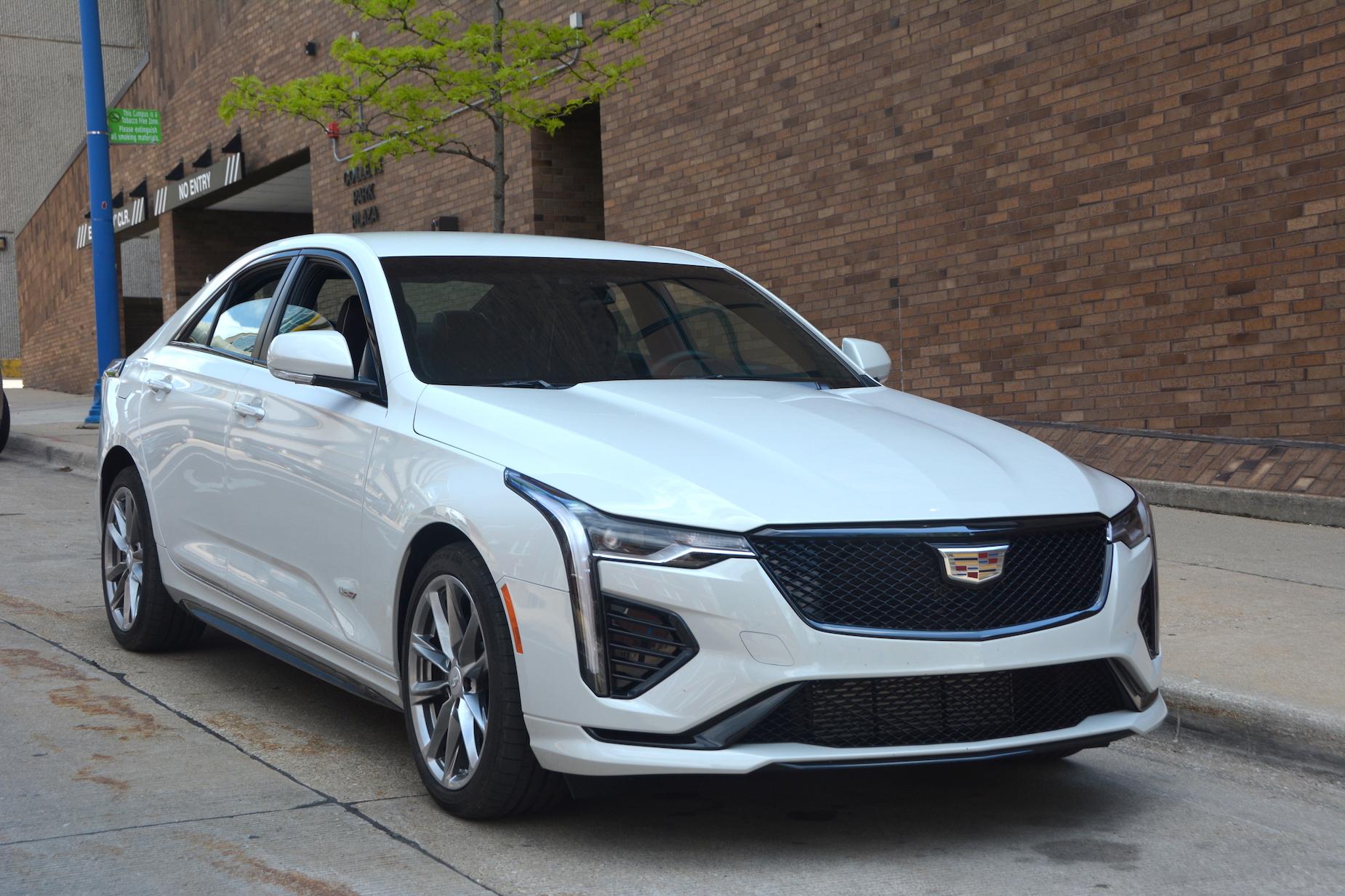 2021 Cadillac CT4-V price