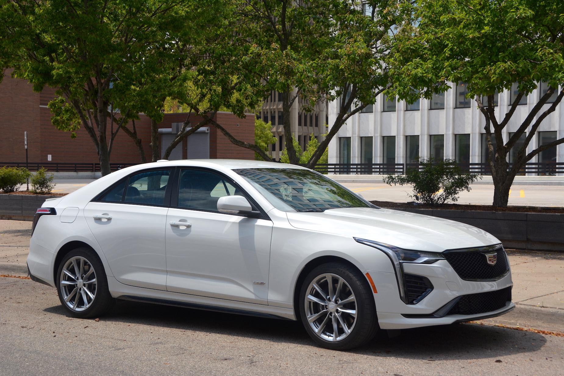 2021 Cadillac CT4-V review