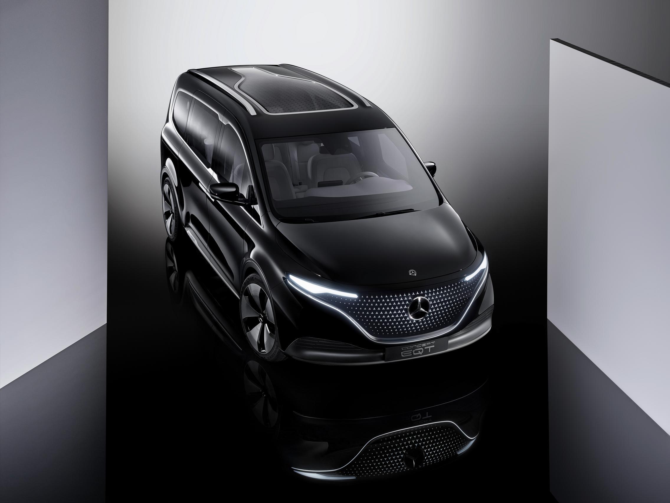 2022 Mercedes-Benz EQT Concept