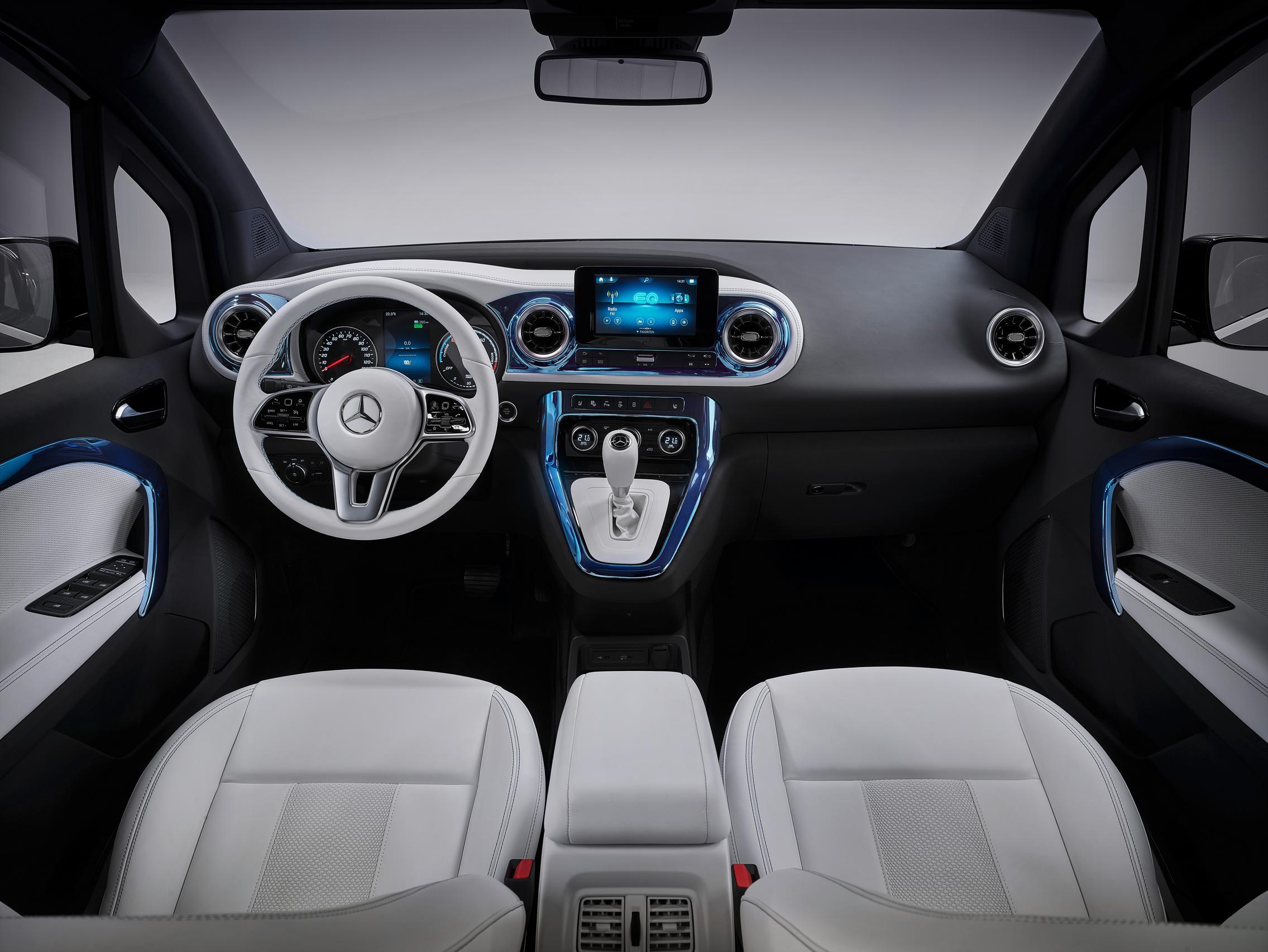 2022 Mercedes-Benz EQT interior