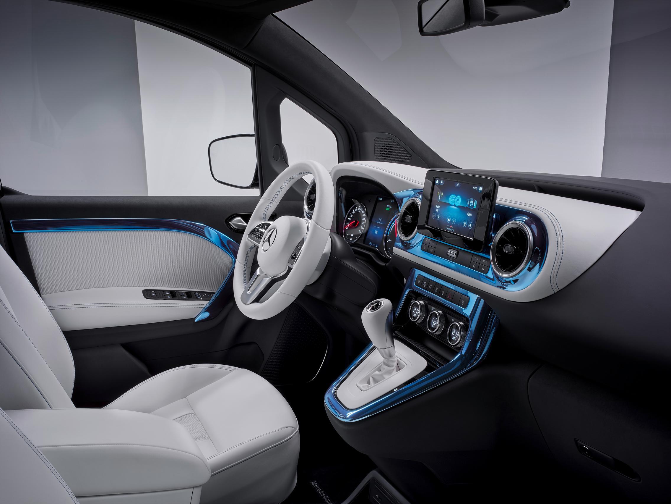 2022 Mercedes-Benz EQT cabin