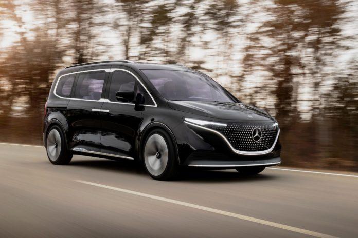 Mercedes-Benz EQT Concept: A Full Electric Minivan